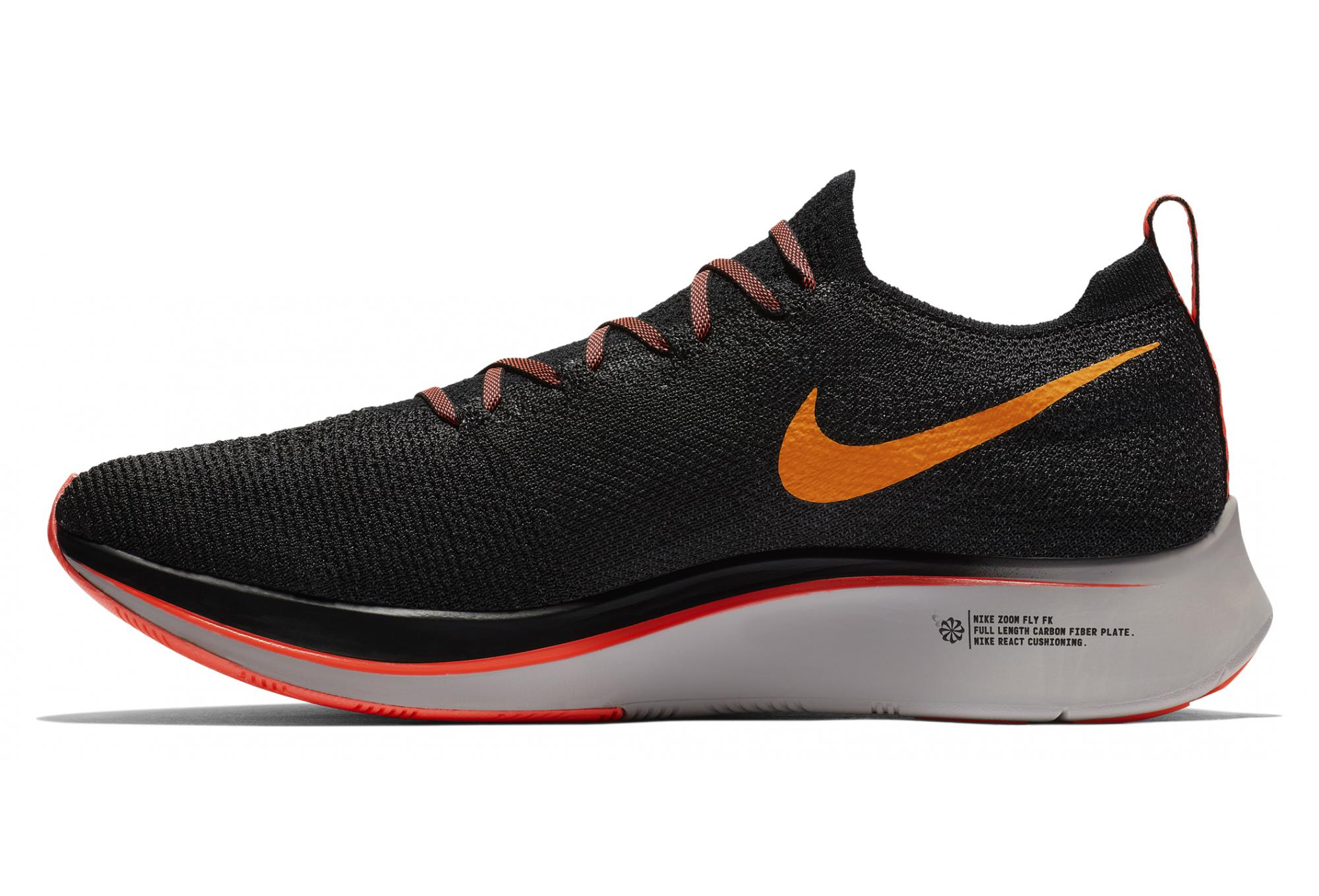 Flyknit Orange Zoom De Nike Noir Fly Chaussures Running Rctqhxsd 4LAq53Rj