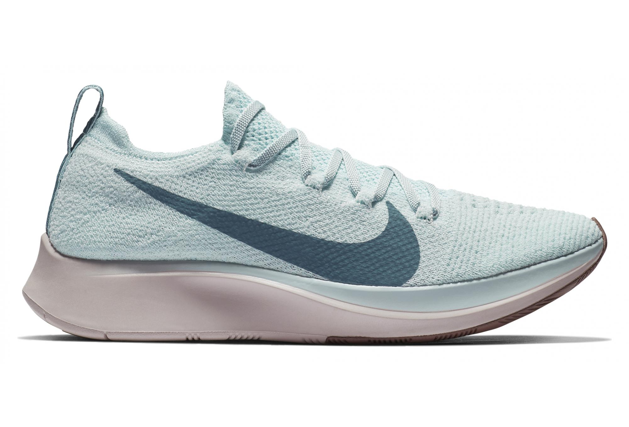 low priced e5658 dca89 Chaussures de Running Femme Nike Zoom Fly Flyknit Bleu