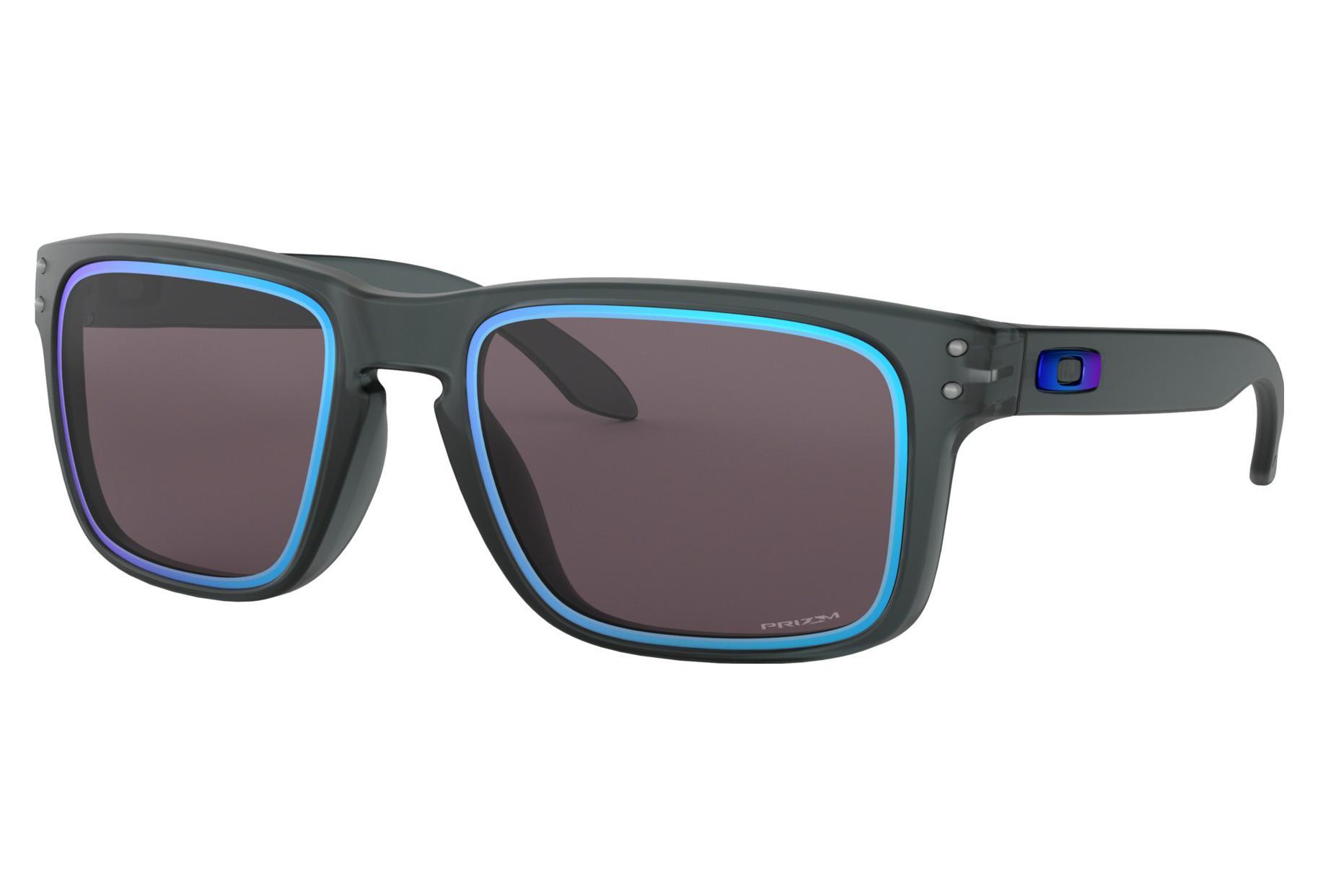 49bef548ec Gafas de sol Oakley Holbrook Fire and Ice Colección Mate Cristal ...