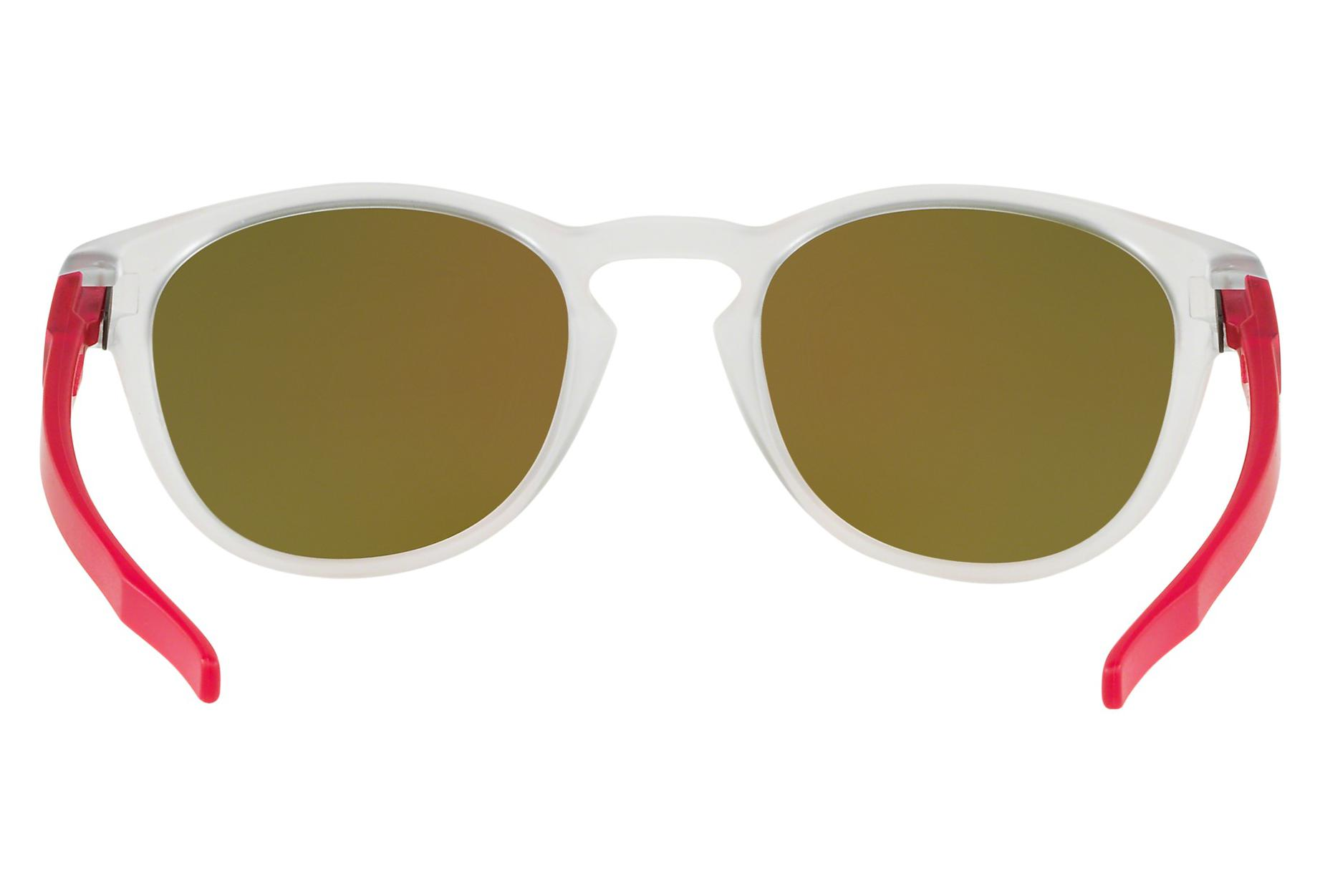 9bc61a40bd4f7 Oakley Sunglasses Latch Crystal Pop Matte Clear   Prizm Ruby   Ref.  OO9265-4753