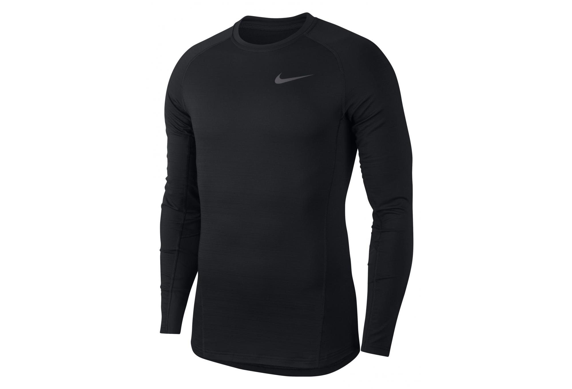 2aebe9a1 Nike Pro Warm Thermal Long Sleeves Jersey Black | Alltricks.com