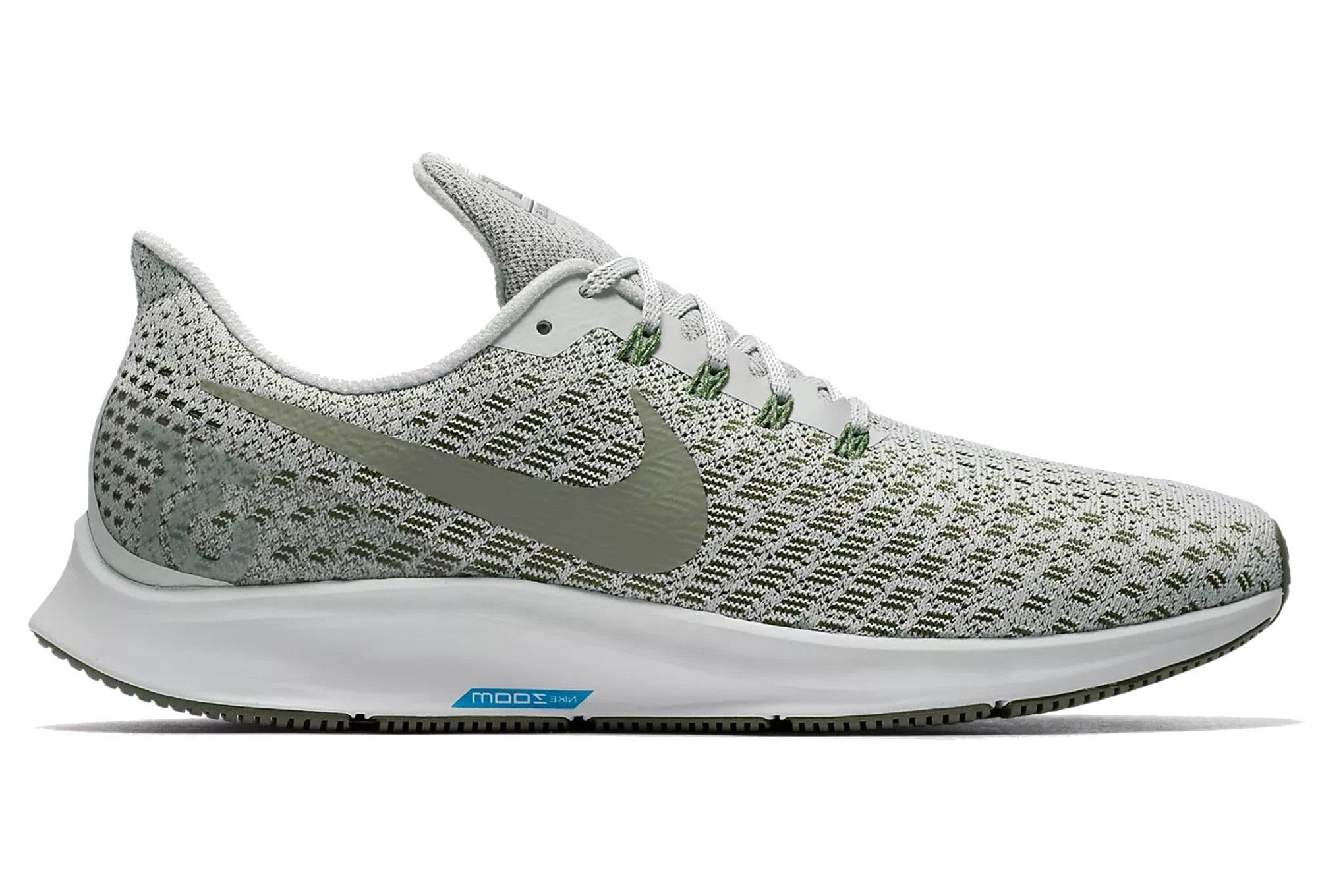 cheap for discount 70f15 80e40 Chaussures de Running Nike Air Zoom Pegasus 35 Argent   Vert