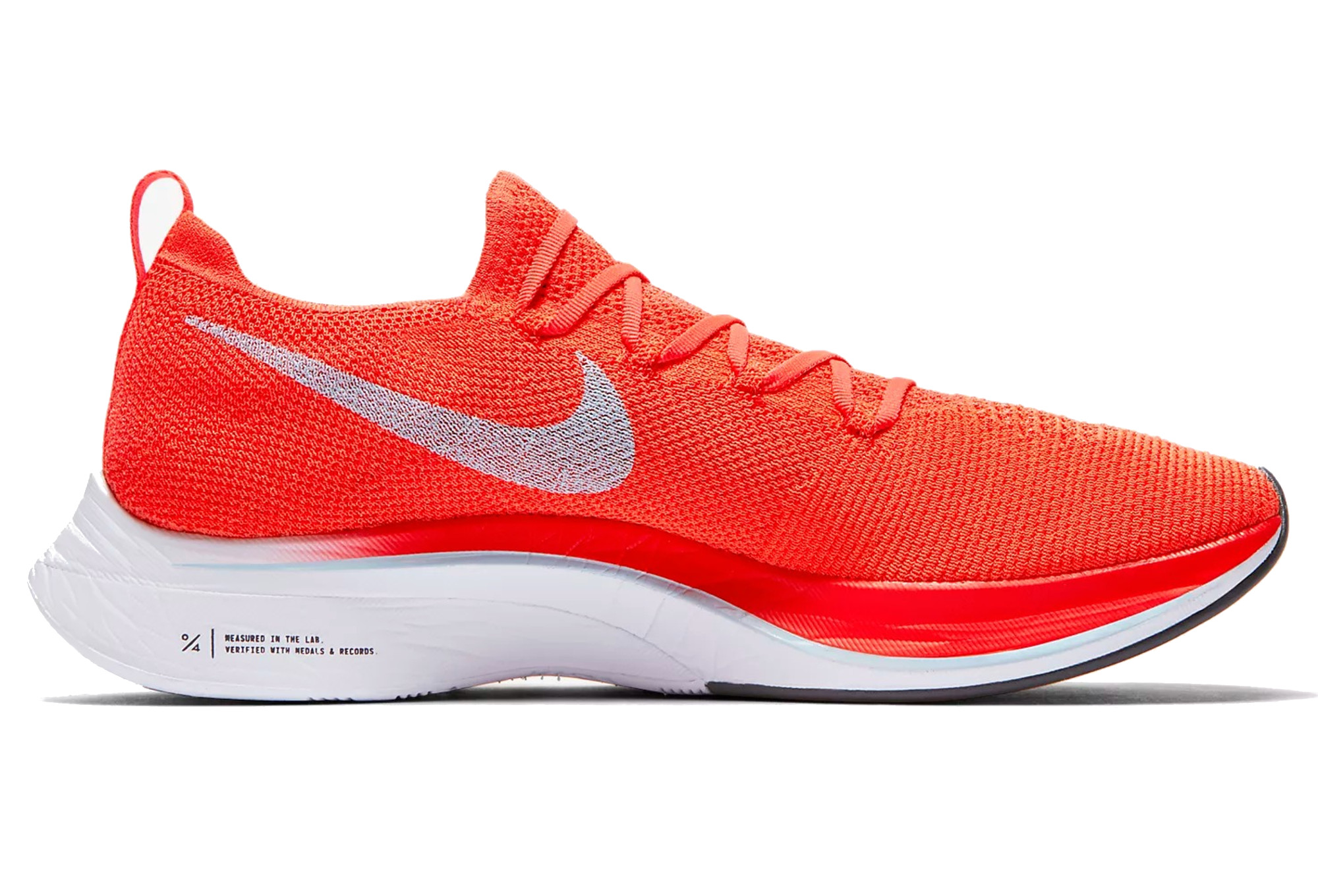 9ffb3ff999435 Zapatillas Nike VaporFly 4 Flyknit Grey Rojo Unisex