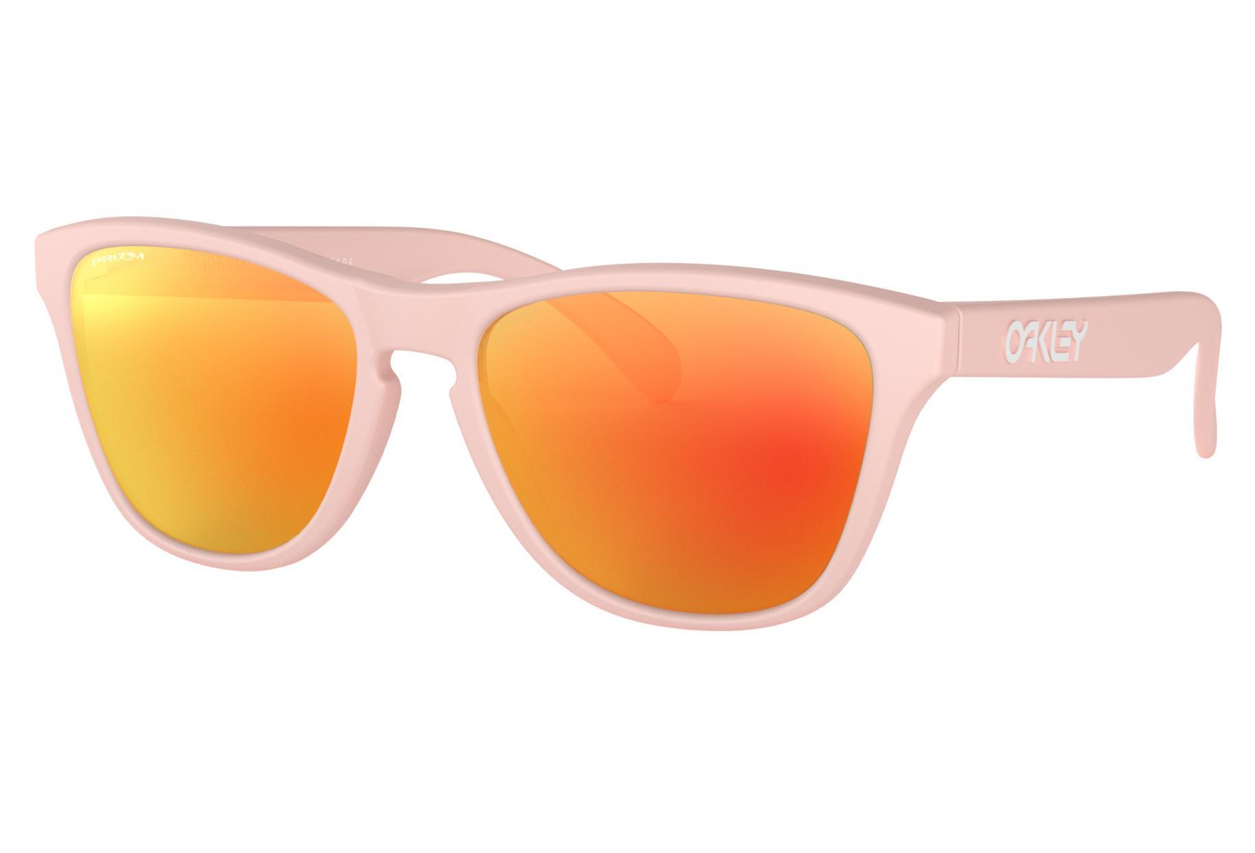 b878eae6bd2 Oakley Sunglasses Frogskins XS Youth Matte Pink   Prizm Ruby   Ref. OJ9006-0253