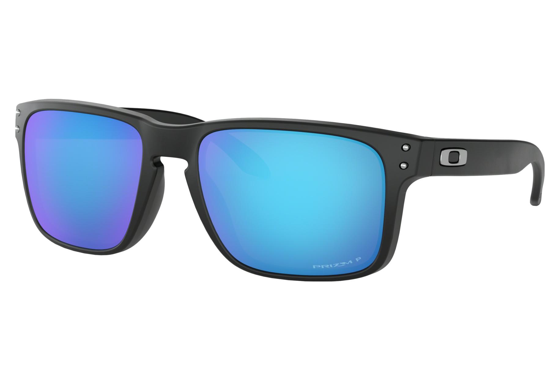 7a71f0f11d Oakley Sunglasses Holbrook Matte Black   Prizm Sapphire Polarized   Ref.  OO9102-F055