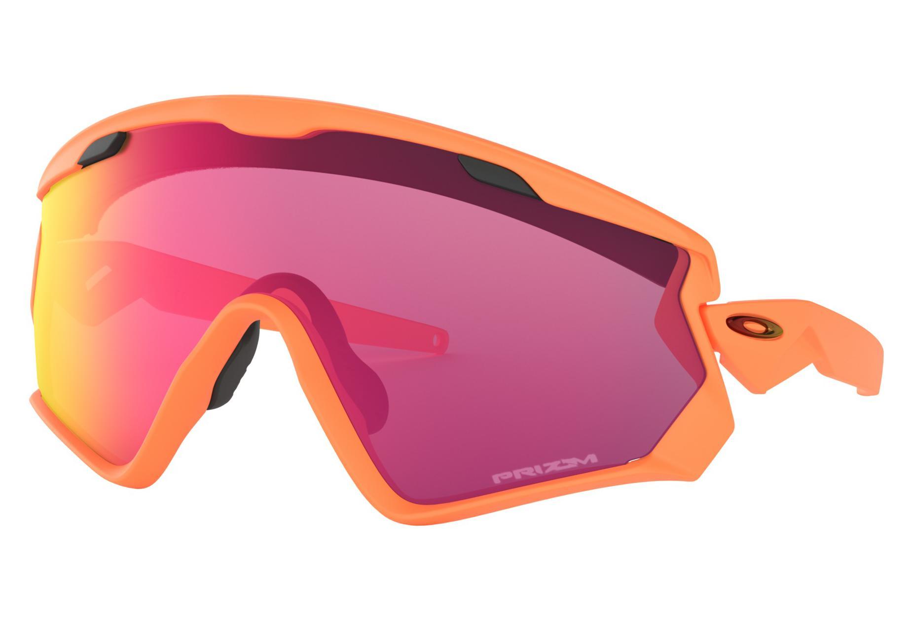 2cbf49043f0 Oakley Sunglasses Wind Jacket 2.0 Matte Neon Orange   Prizm Road   Ref.  OO9418-