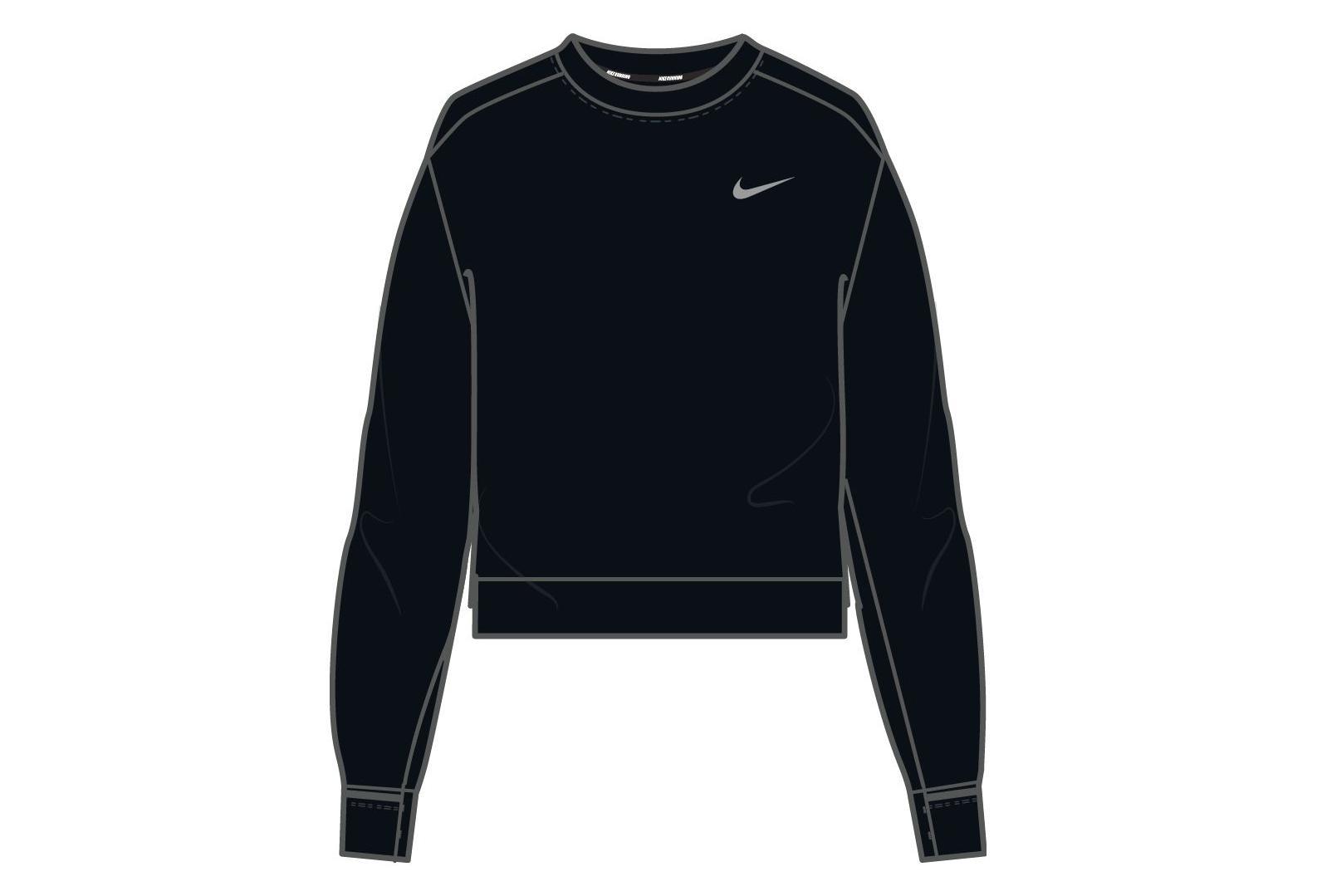 4d6bce8ad Nike Therma Sphere Elet Women's Long Sleeves Jersey Black | Alltricks.com
