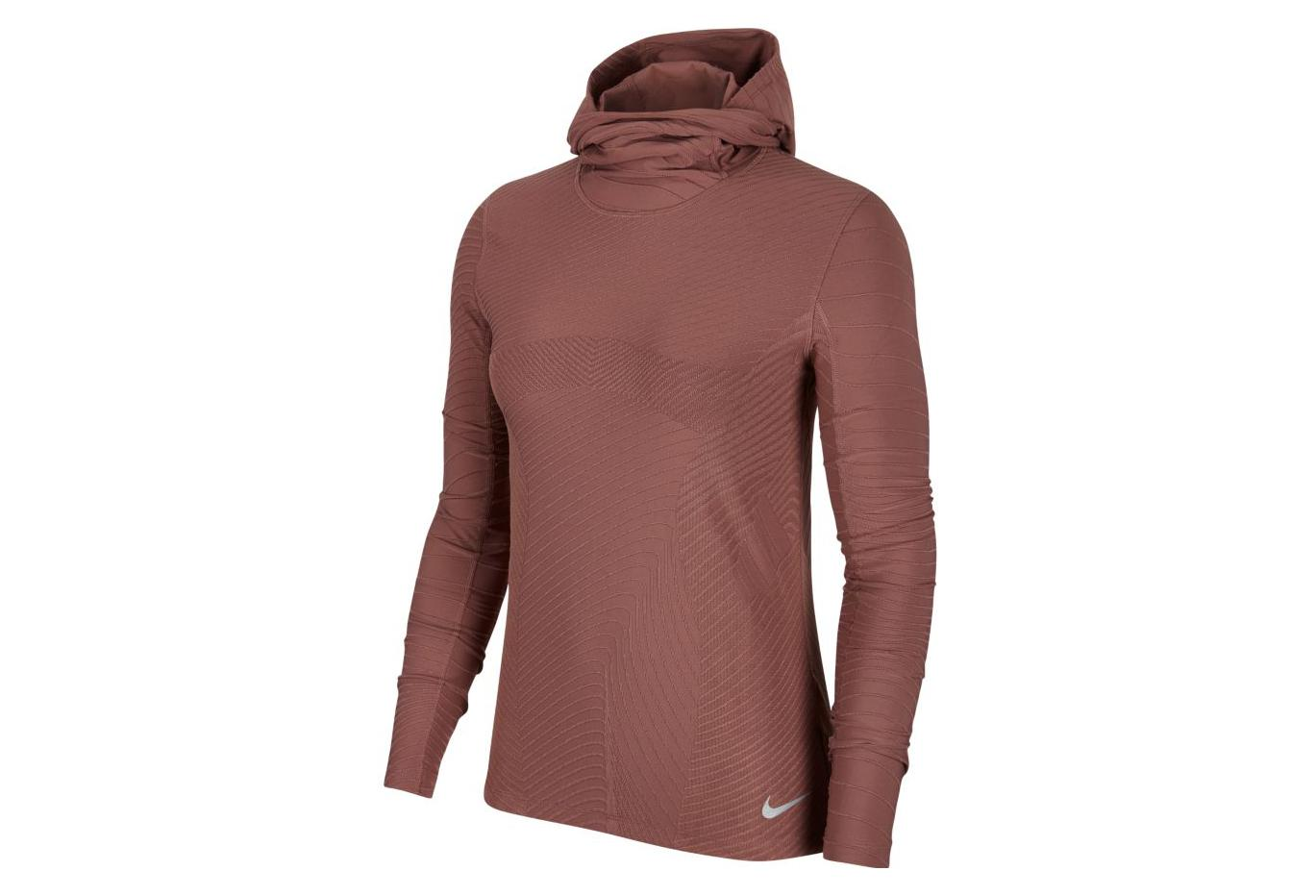 9f74aa7d Nike Element Women's Hooded Long Sleeves Jersey Pink Mauve