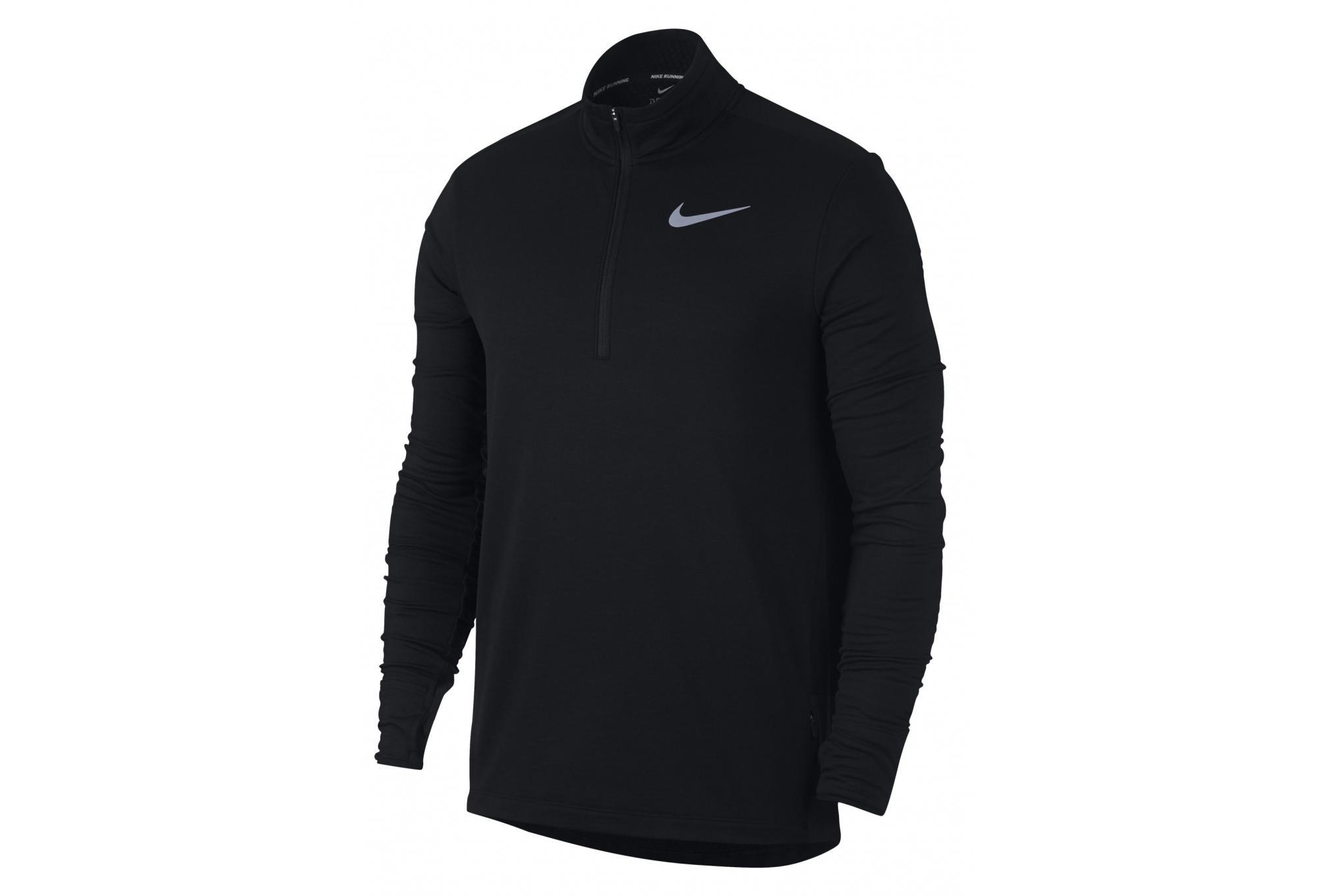 a41118378f0a2 Nike Sphere Element Thermal Zip Long Sleeves Jacket Black ...