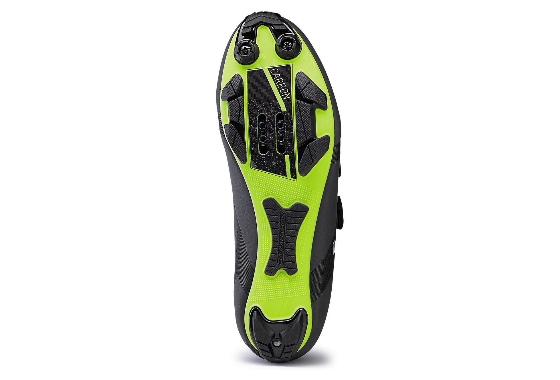 30d5e4a58033 Shoes MTB Northwave Rebel Anthracite Acid Green