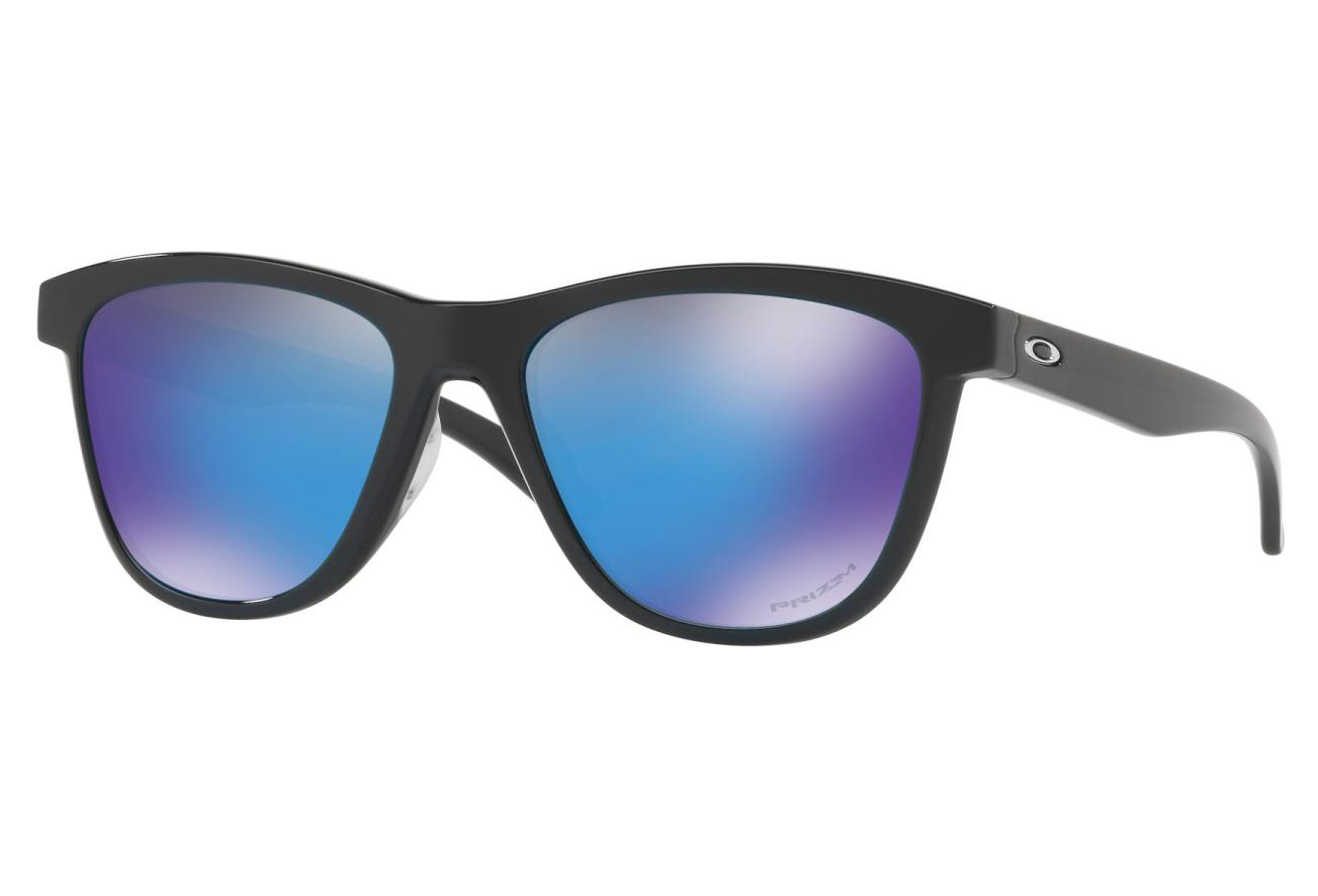 4a7a96608e Oakley Sunglasses Moonlighter / Polished Black / Prizm Sapphire / Ref.  OO9320