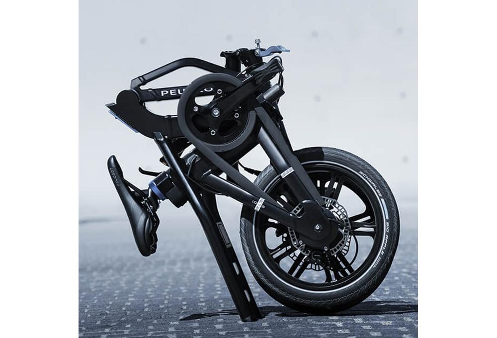 peugeot ef01 faltbares e bike singlespeed schwarz. Black Bedroom Furniture Sets. Home Design Ideas