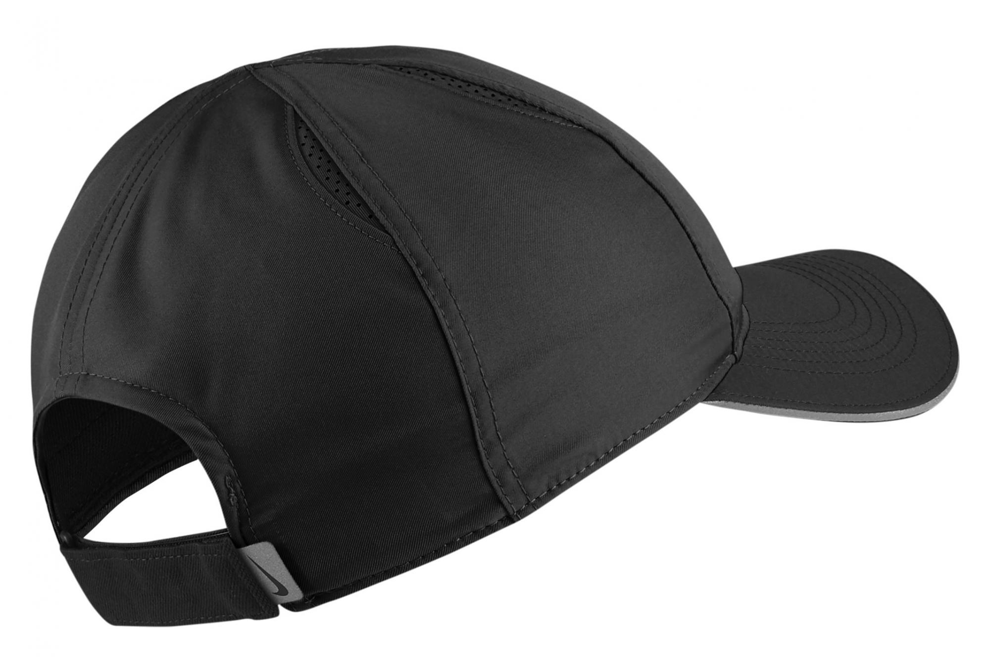 NIKE Featherlight Cap Black Unisex  4f9e7793566