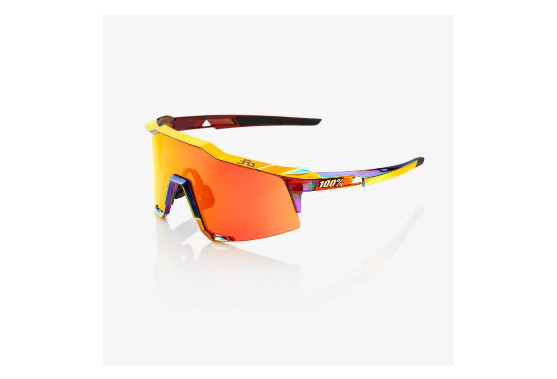 0af69e323e 100% gafas de sol Speedcraft Peter Sagan Chromium Rojo / Hiper Rojo ...
