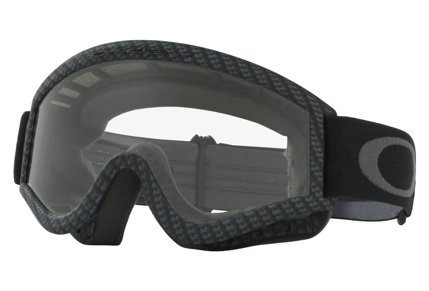 d84f3f9ab4ec Oakley L-Frame MX Goggles   Carbon Fiber   Clear   Ref. 01-230 ...