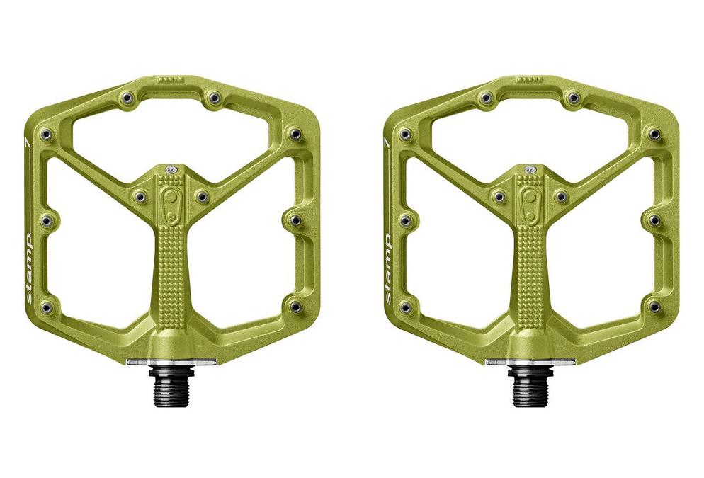 Crankbrothers STAMP 7 Pair Of Pedals Green
