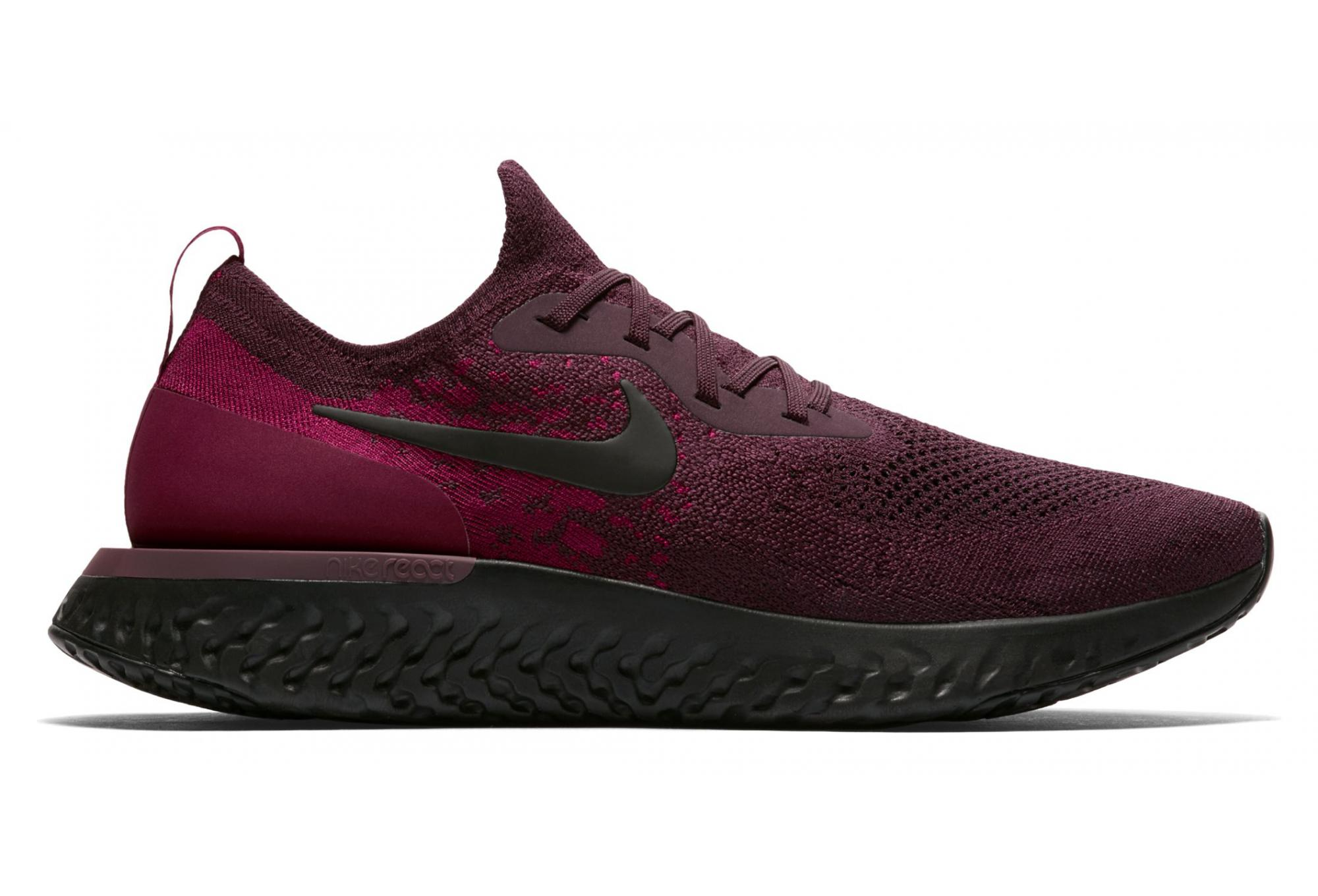 6730a9f58b0a1 ... spain nike epic react flyknit red wine men 27847 441eb ...