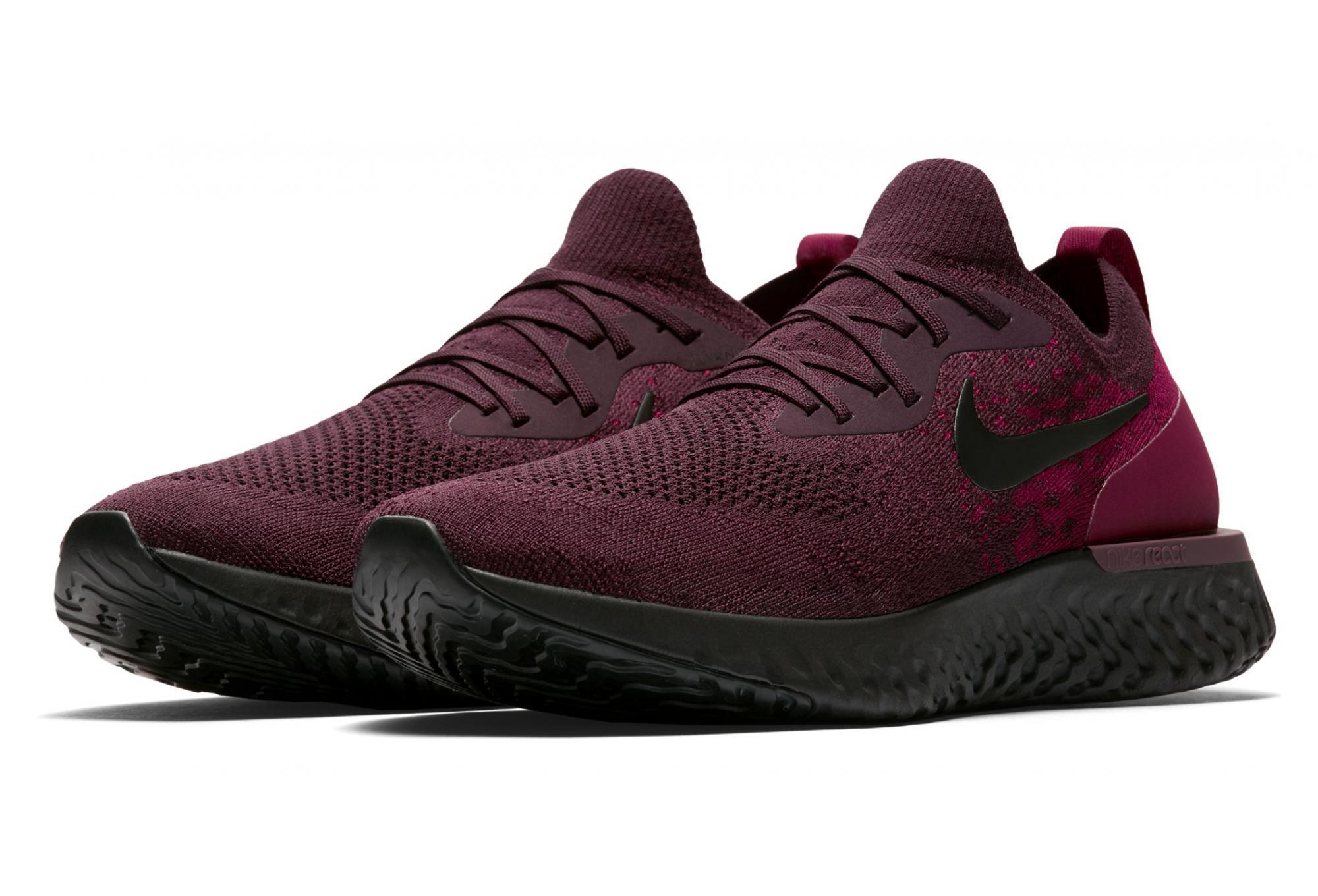 476a0f2f7ea66 Nike Epic React Flyknit Red Wine Men