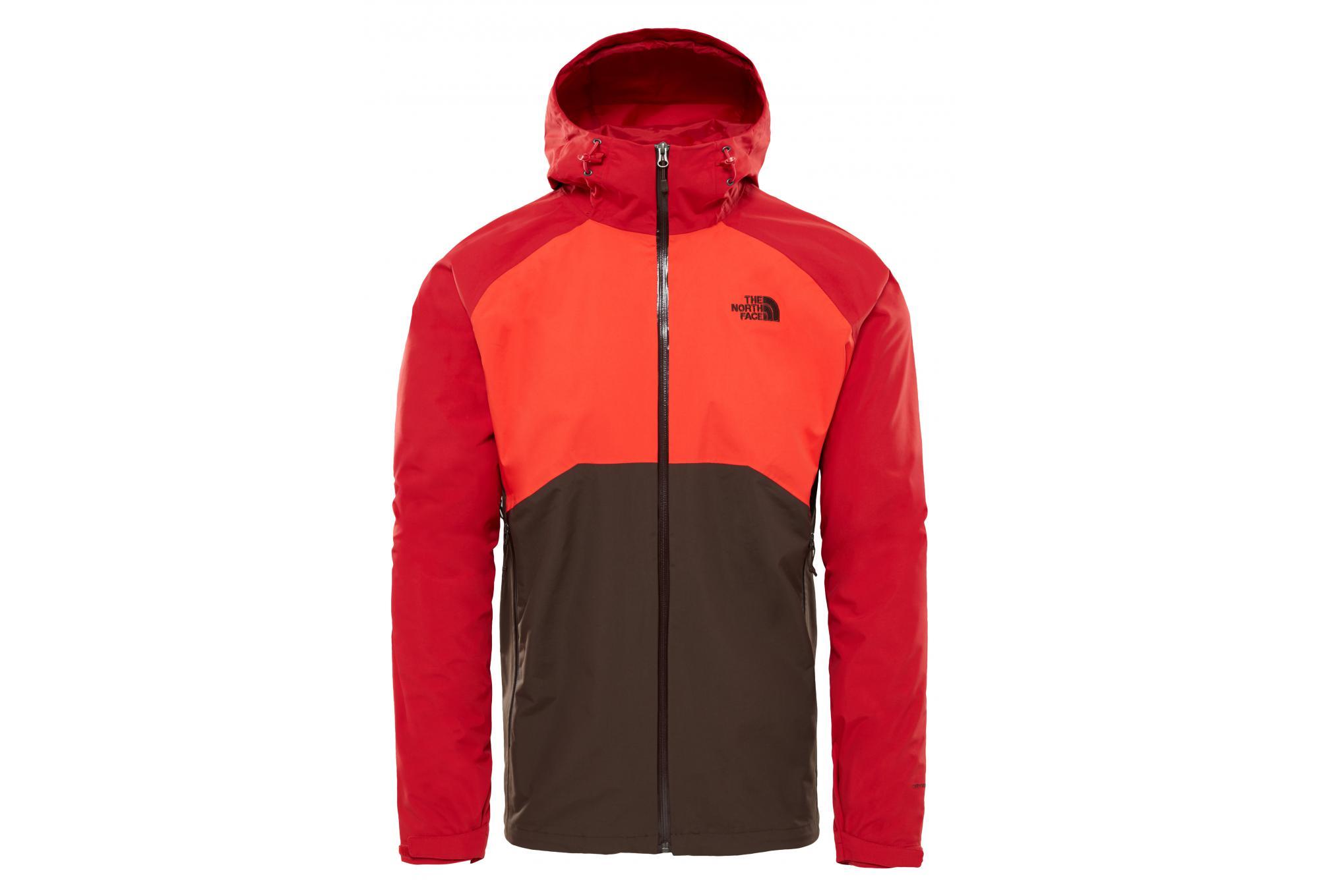 new styles 808a4 68ed6 Die North Face Stratos Wasserdichte Jacke Rot