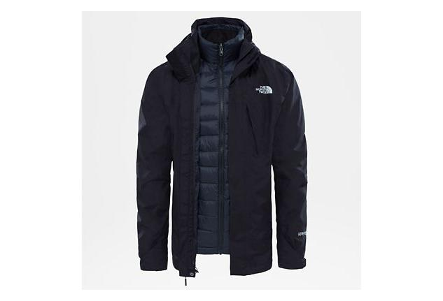 Face The Mountain Light Jacket Triclimate Black North shtCQrxd