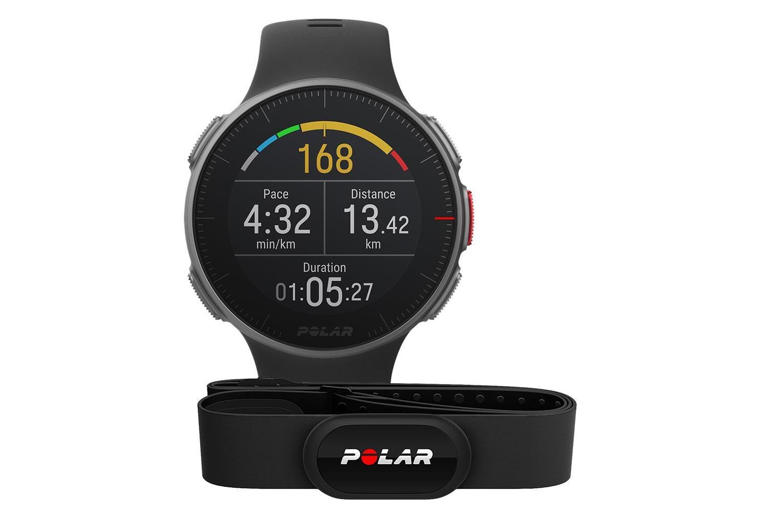 Montre GPS POLAR VANTAGE V Noir avec Capteur de Fréquence Cardiaque ... cf3b721e3b9