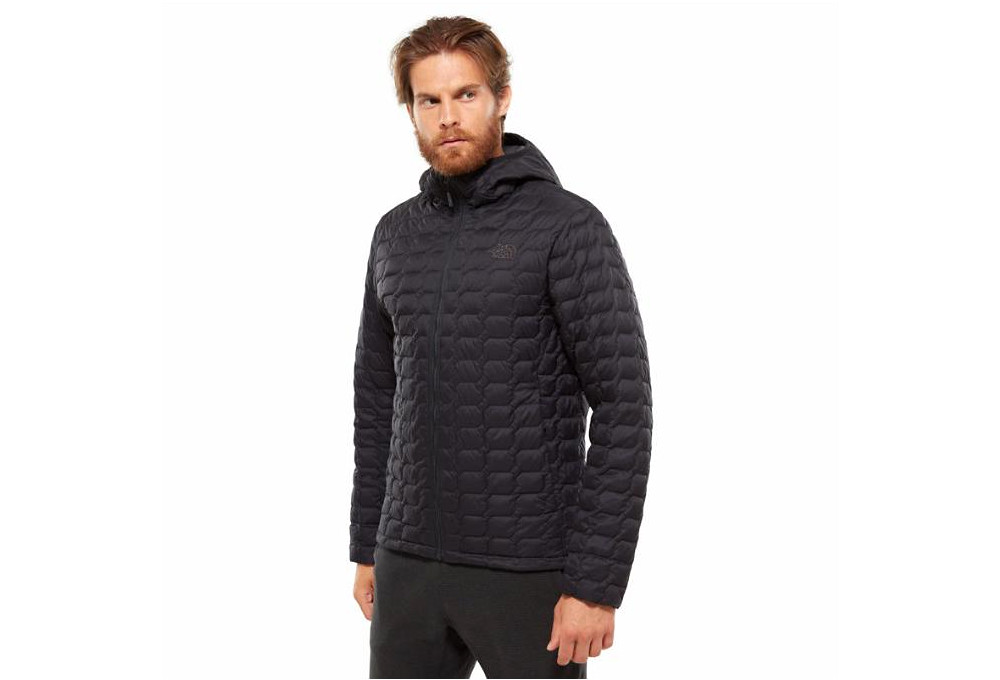 2b174dc38e81 Doudoune à Capuche The North Face Thermoball Noir Matte