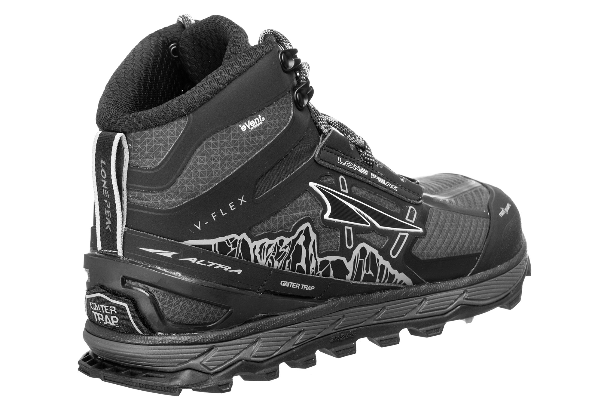 Altra Lone Peak 4 Mid RSM Shoes Red