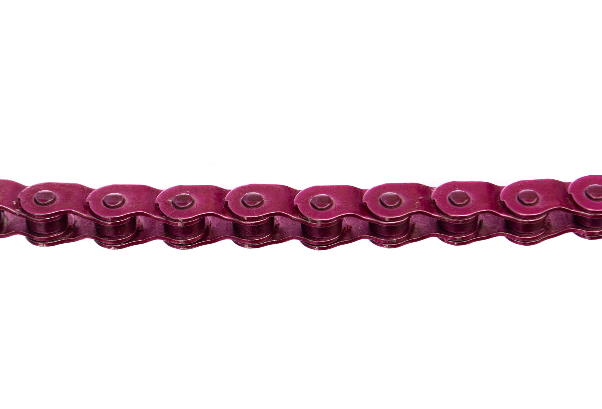 BMX Bike Chain Single Speed 1//2 x 1//8 x 102L Pink YBN MK918 Half Link Track
