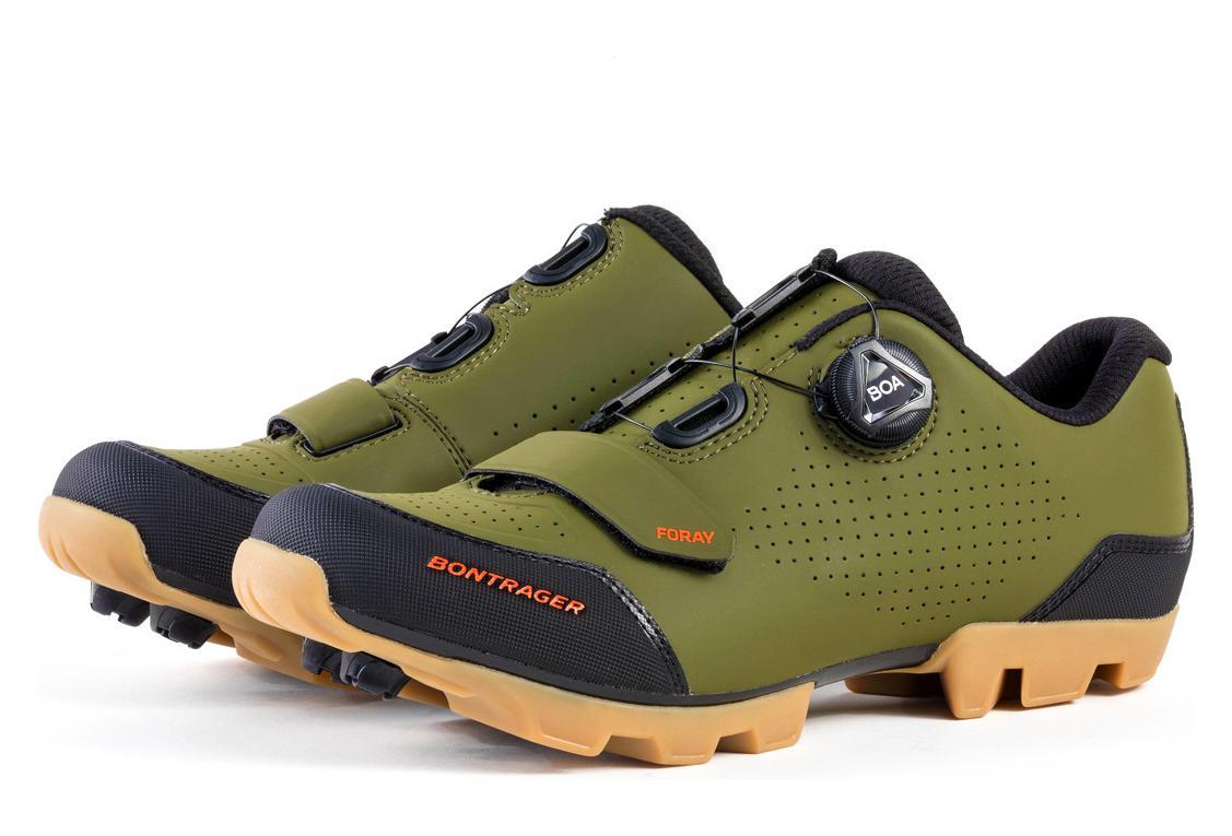 zapatos deportivos 74477 36f92 Bontrager FORAY Zapatillas BTT Gris / Verde Oliva