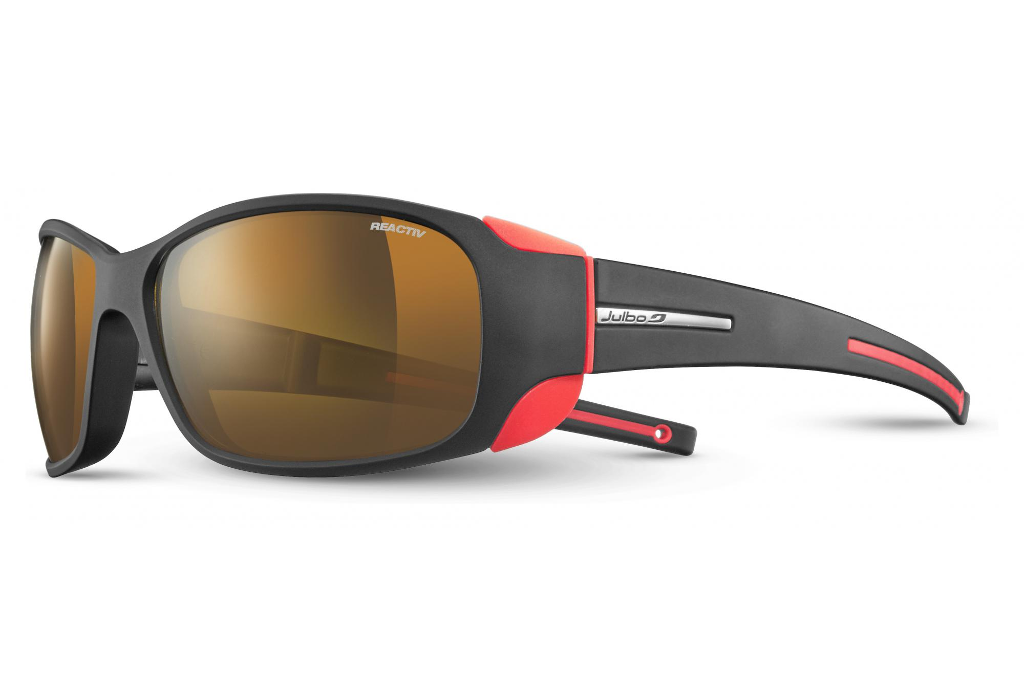 7e77f40ea0 Julbo MonteBianco Cameleon Sunglasses Black - Orange