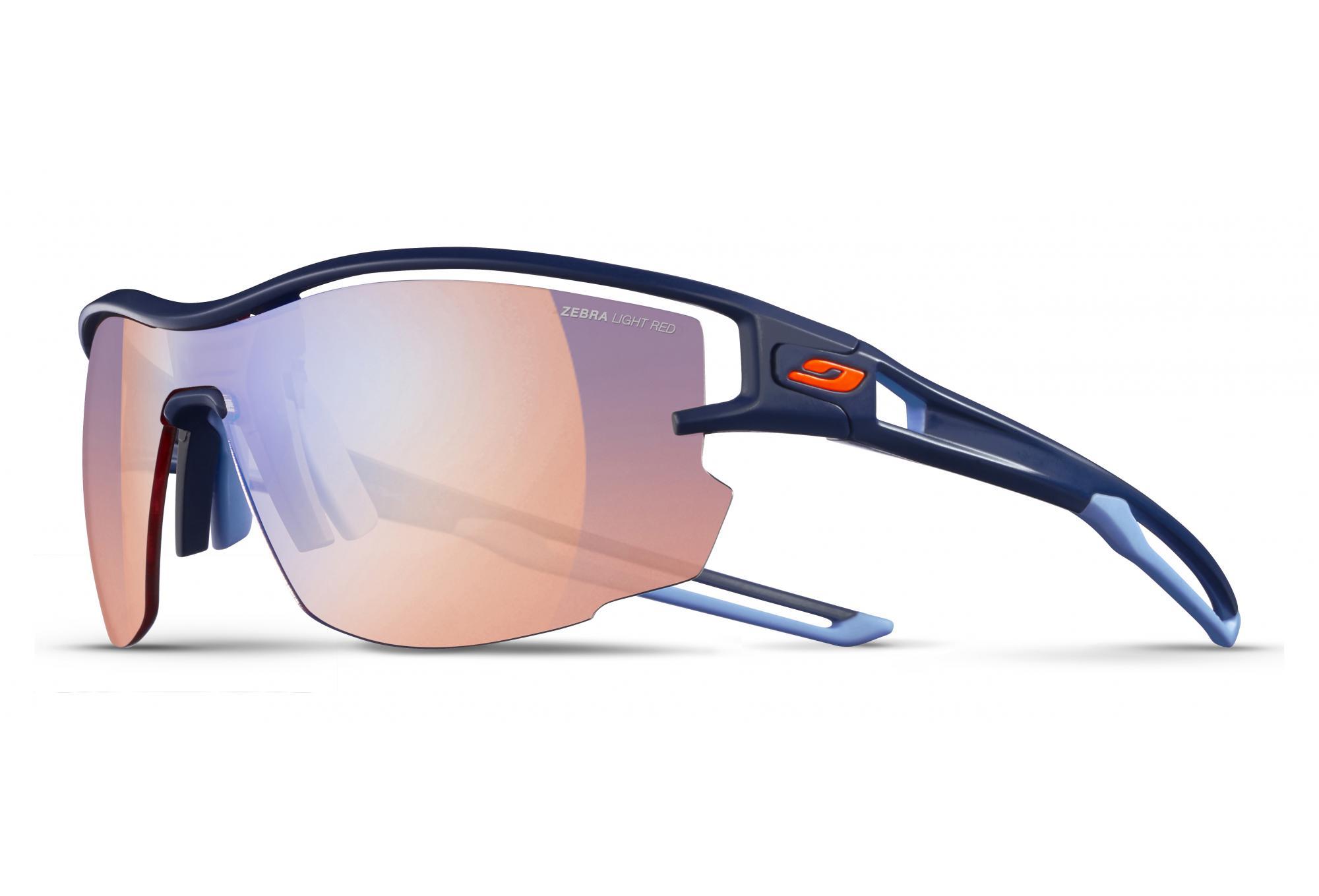 4ffbc2ebca Julbo Aero Zebra Light glasses Blue - Red