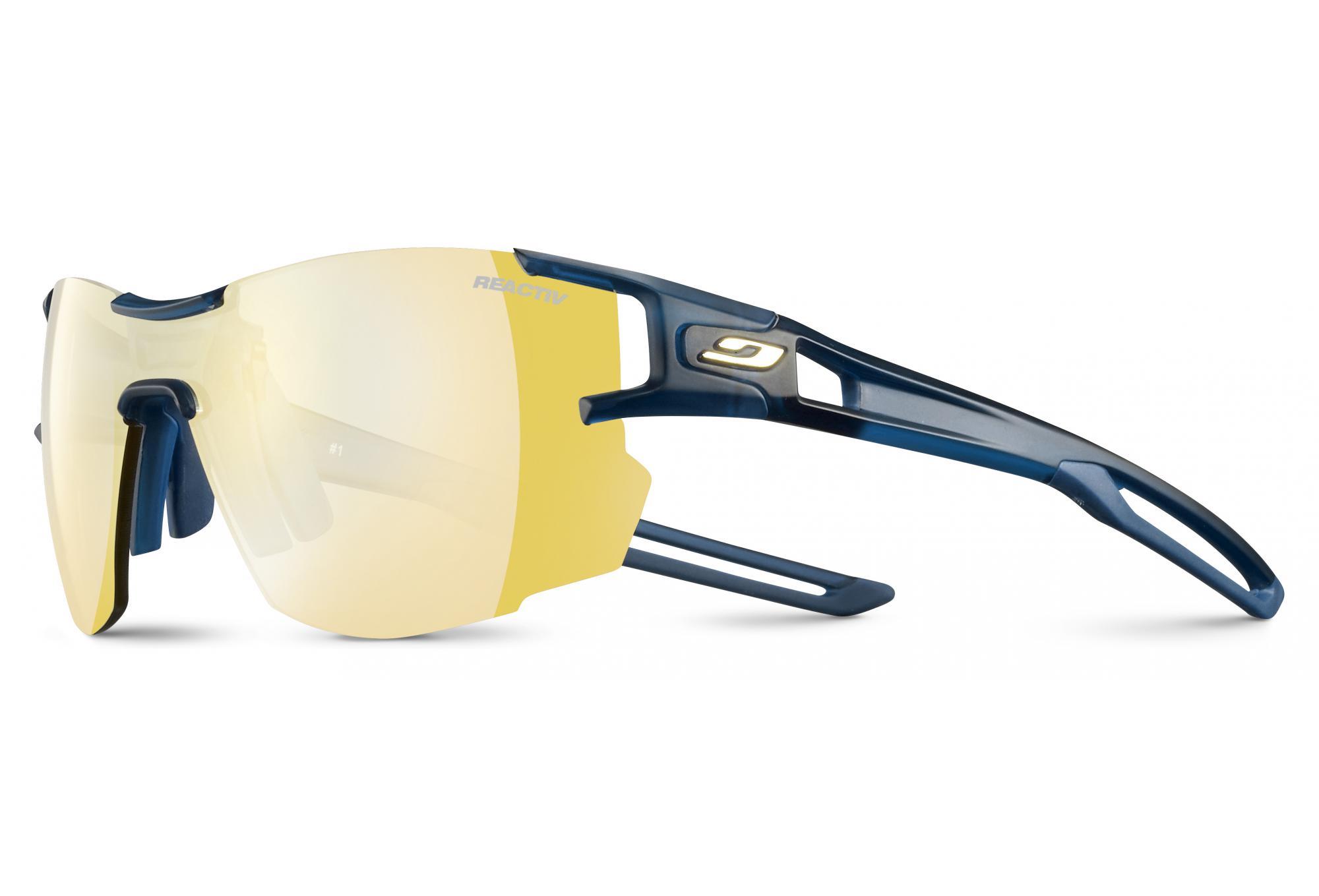 a0a492b391 Julbo Aero Zebra Light glasses Blue - Yellow