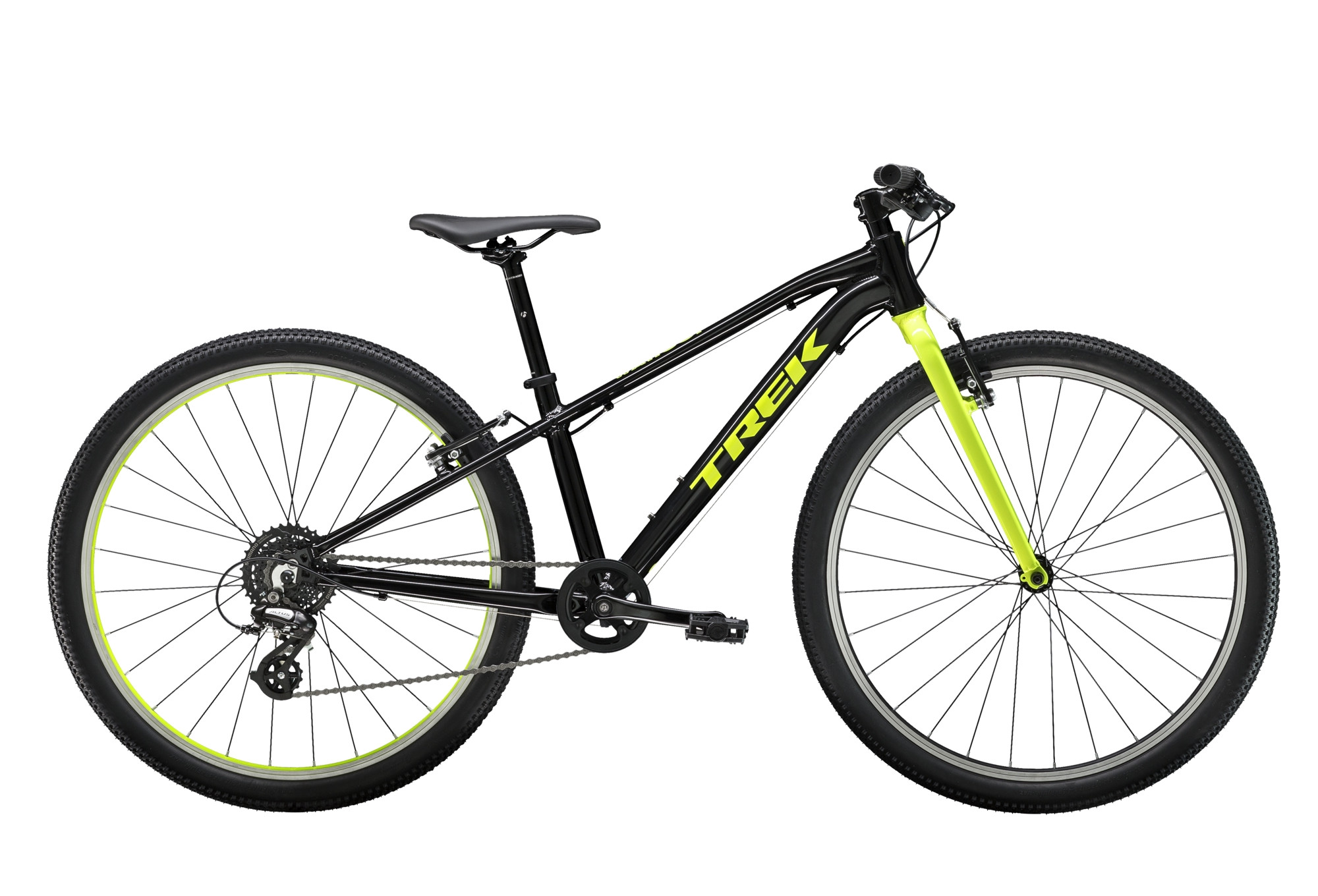 Trek Wahoo 24'' Kid MTB 2019 Shimano Acera / Altus 8S Black / Yellow