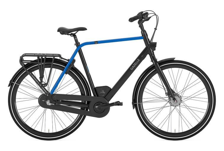 Gazelle CityGo C3 City Bike 2019 Shimano Nexus 3S Black/Blue ...