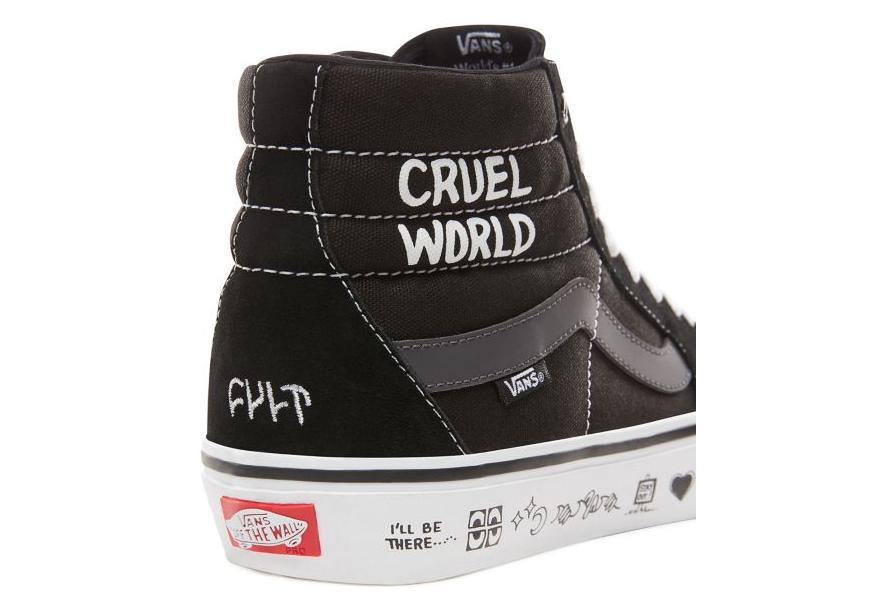 Hi Sk8 Pro Shoes Black Cult Vans H9bewyeid2 c3jRLqA54