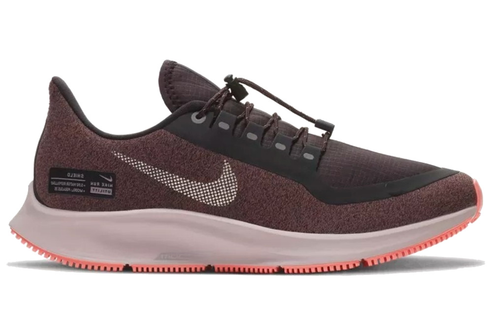 promo code 4250e acf40 Nike Air Zoom Pegasus 35 Shield Women's Shoes Black Mauve