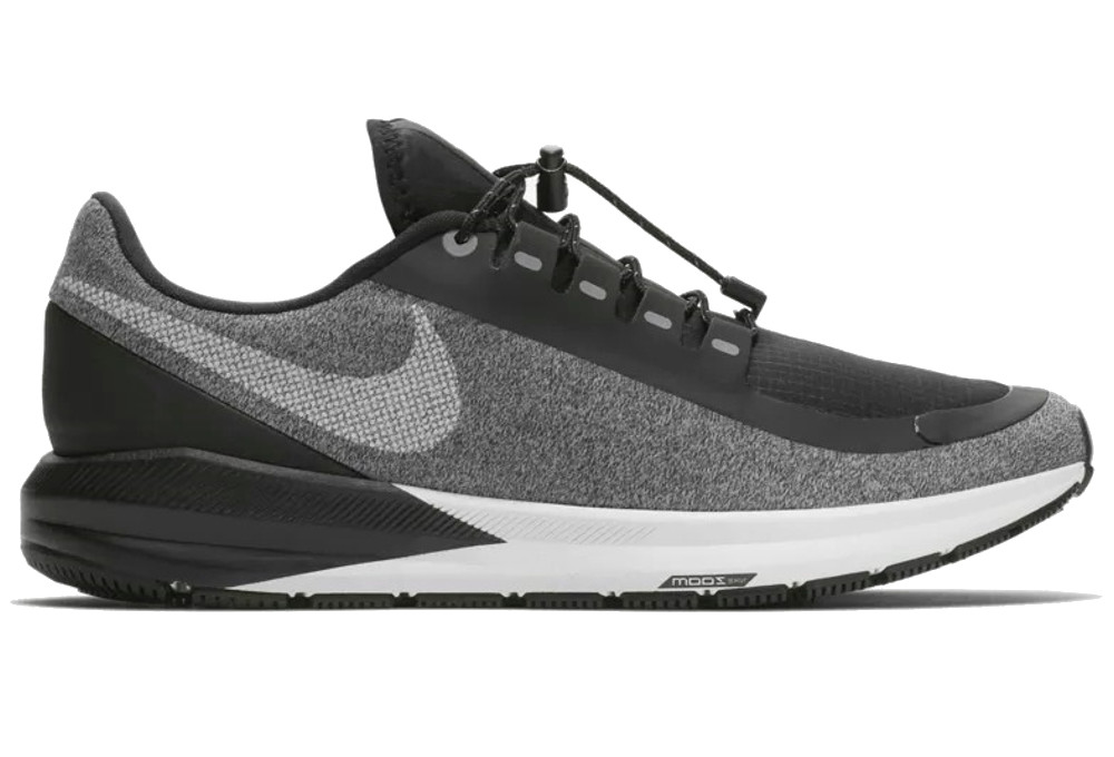 Nike Air Zoom Structure 22 Shield Women's Shoes Black White