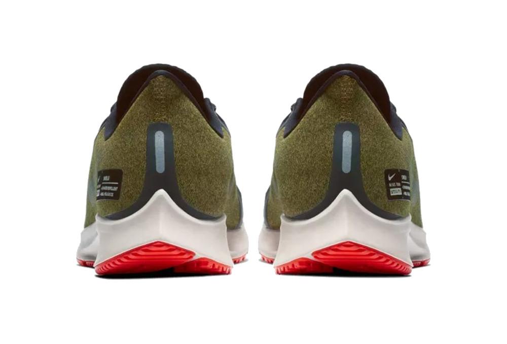 Zapatillas Nike Air Zoom Pegasus 35 Shield azul caqui  8935b11176f13