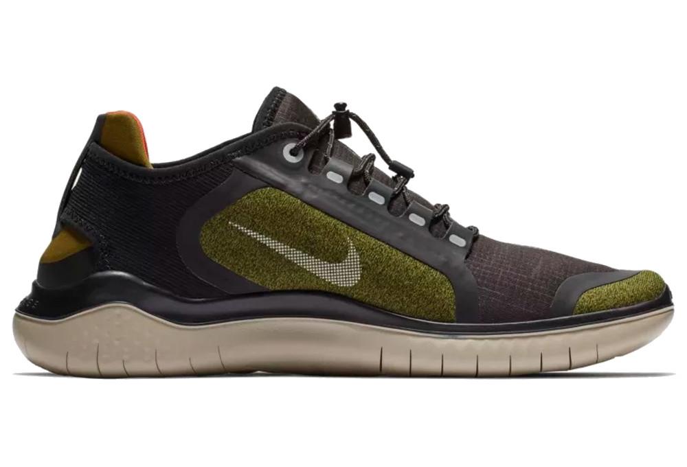 Nike Free RN 2018 Shield Schuhe Grün Khaki