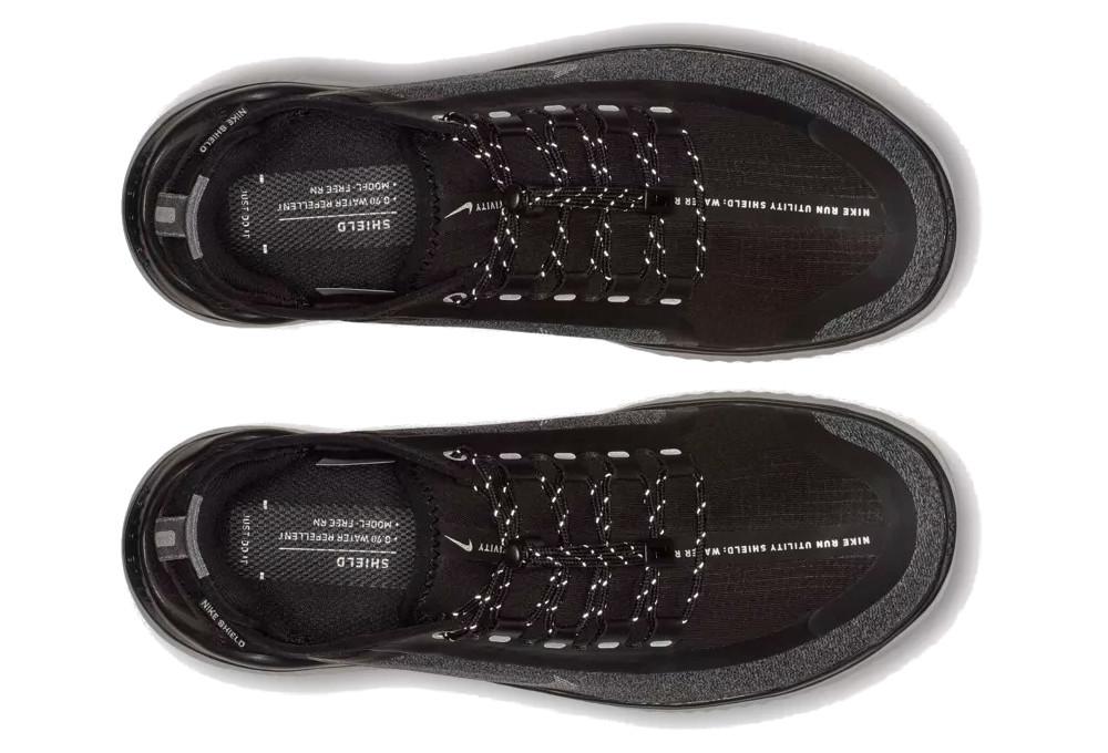 772b27198cc9 Nike Free RN 2018 Shield Women s Shoes Black White
