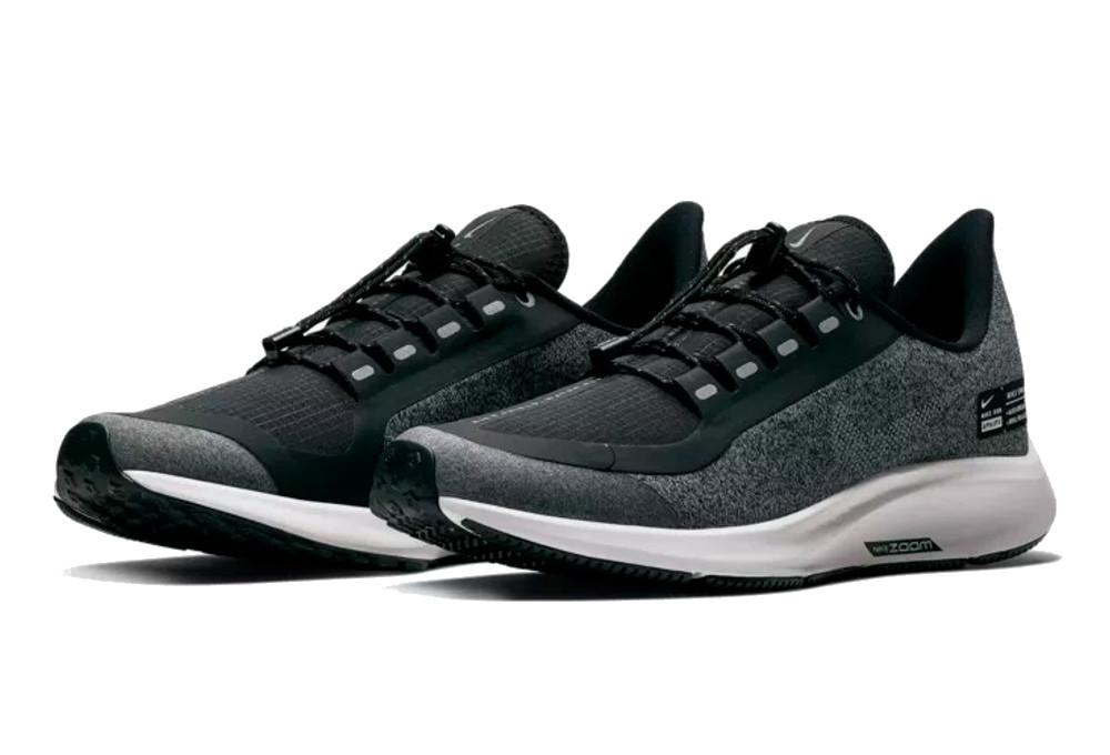 san francisco 5c8b6 d4fcc Nike Air Zoom Pegasus 35 Shield Shoes Black