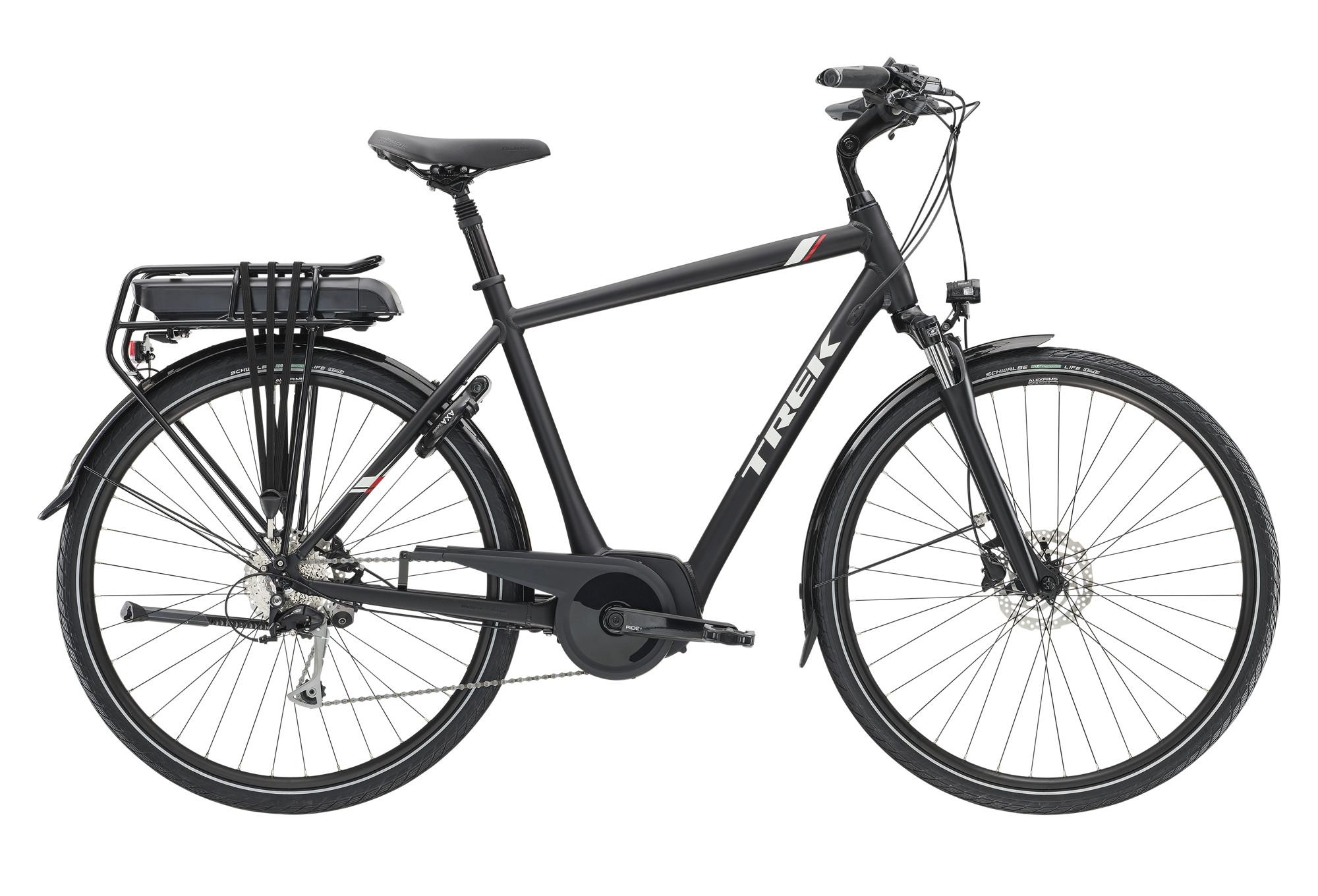 trek tm2 500wh hybrid urban bike 2019 shimano acera. Black Bedroom Furniture Sets. Home Design Ideas