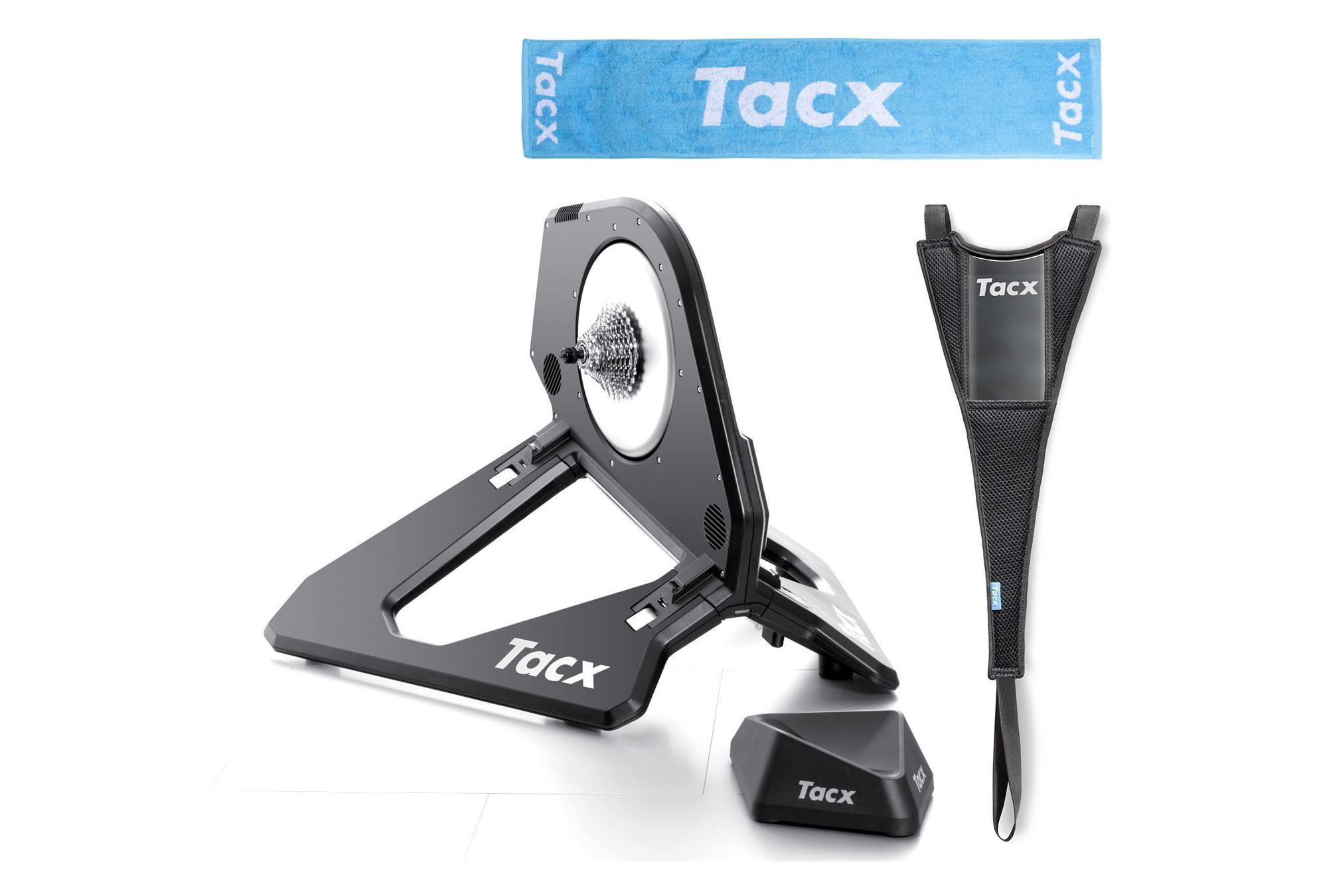 Tacx t-1361 rouge serviette rôles entraîneur Nouveau Triathlon Charger