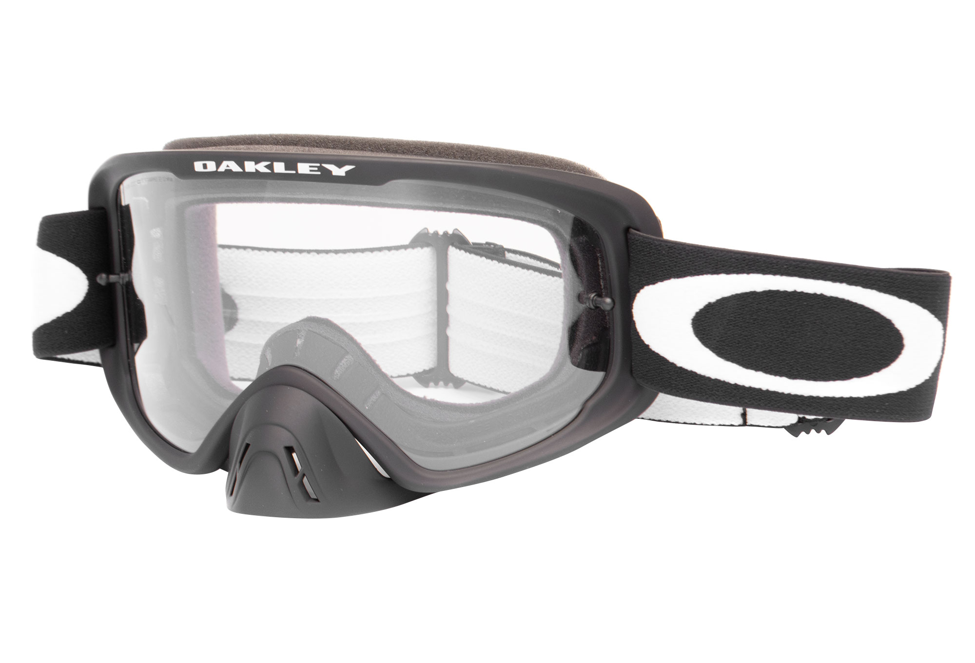 65fe93015a Oakley O Frame 2.0 MX Mask Matte Black   Clear Grey