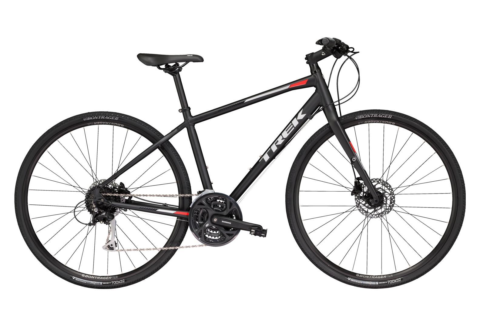 Trek FX3 Disc WSD City Bike 2019 Shimano Acera 9S Black