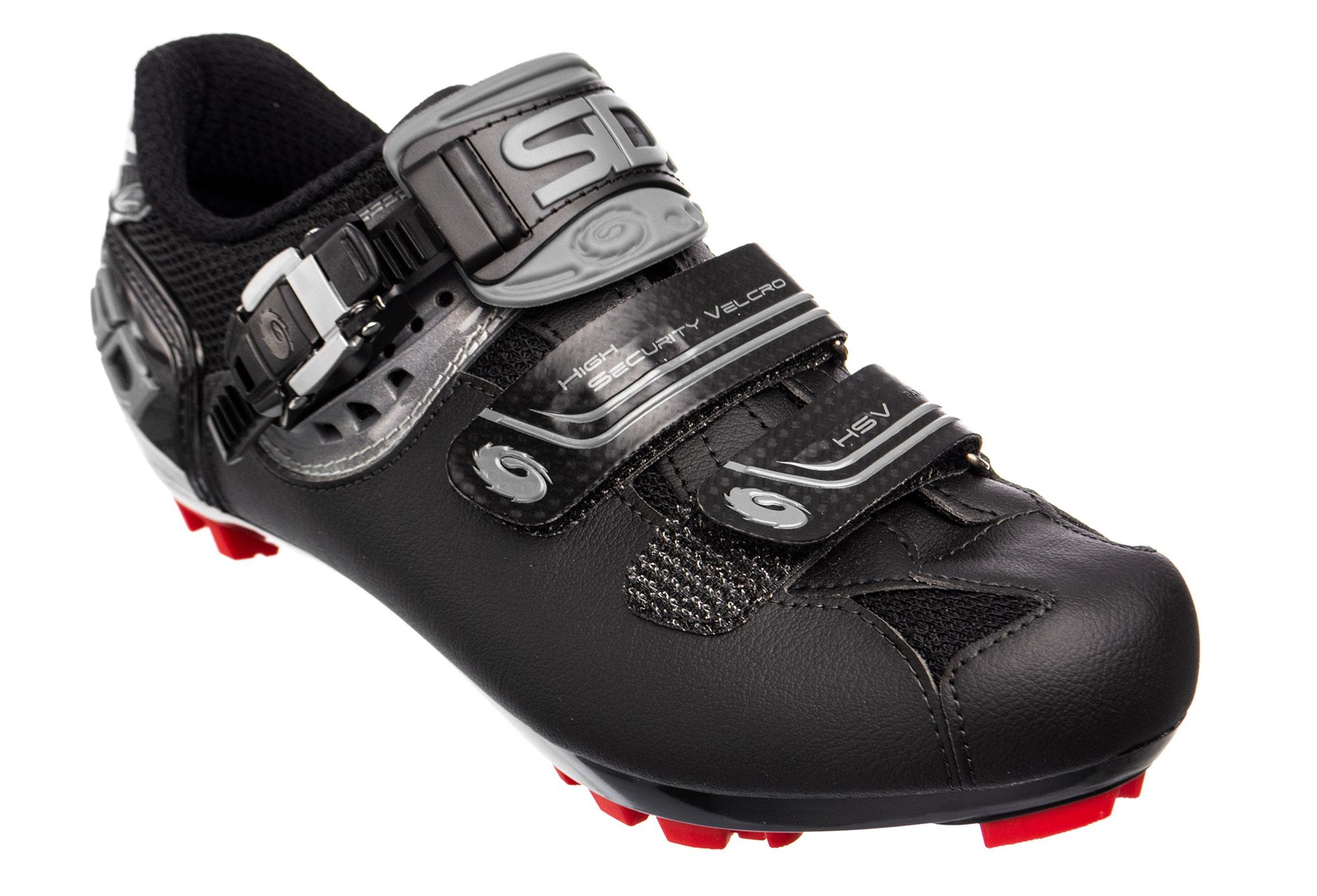 SIDI Eagle 7 MTB Shoes Black//Black//Red
