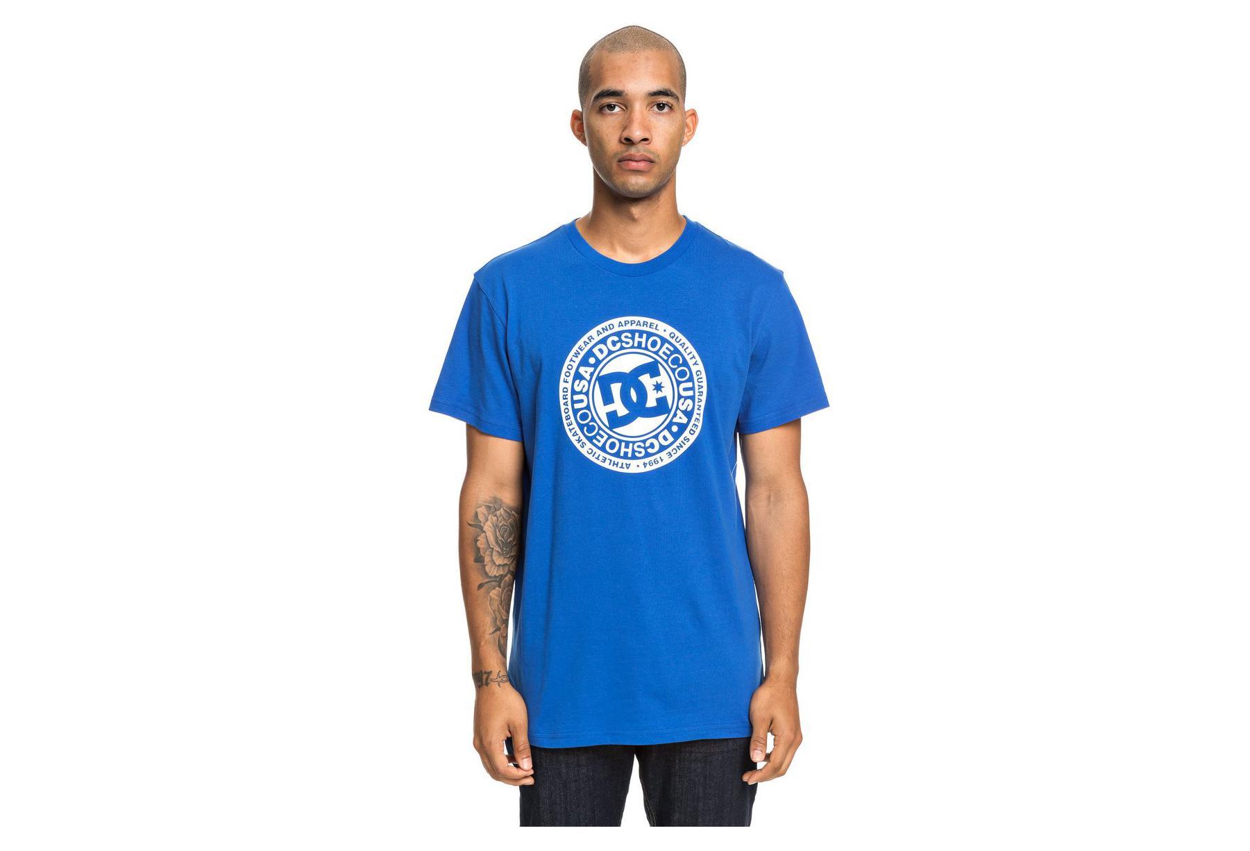 T-Shirt Manches Courtes DC Shoes Circle Star Bleu   Alltricks.fr 202e984d1d9