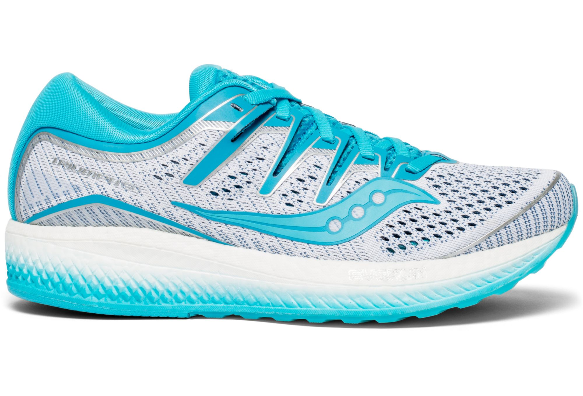 Saucony Triumph ISO 5Women's Running Shoes White Blue