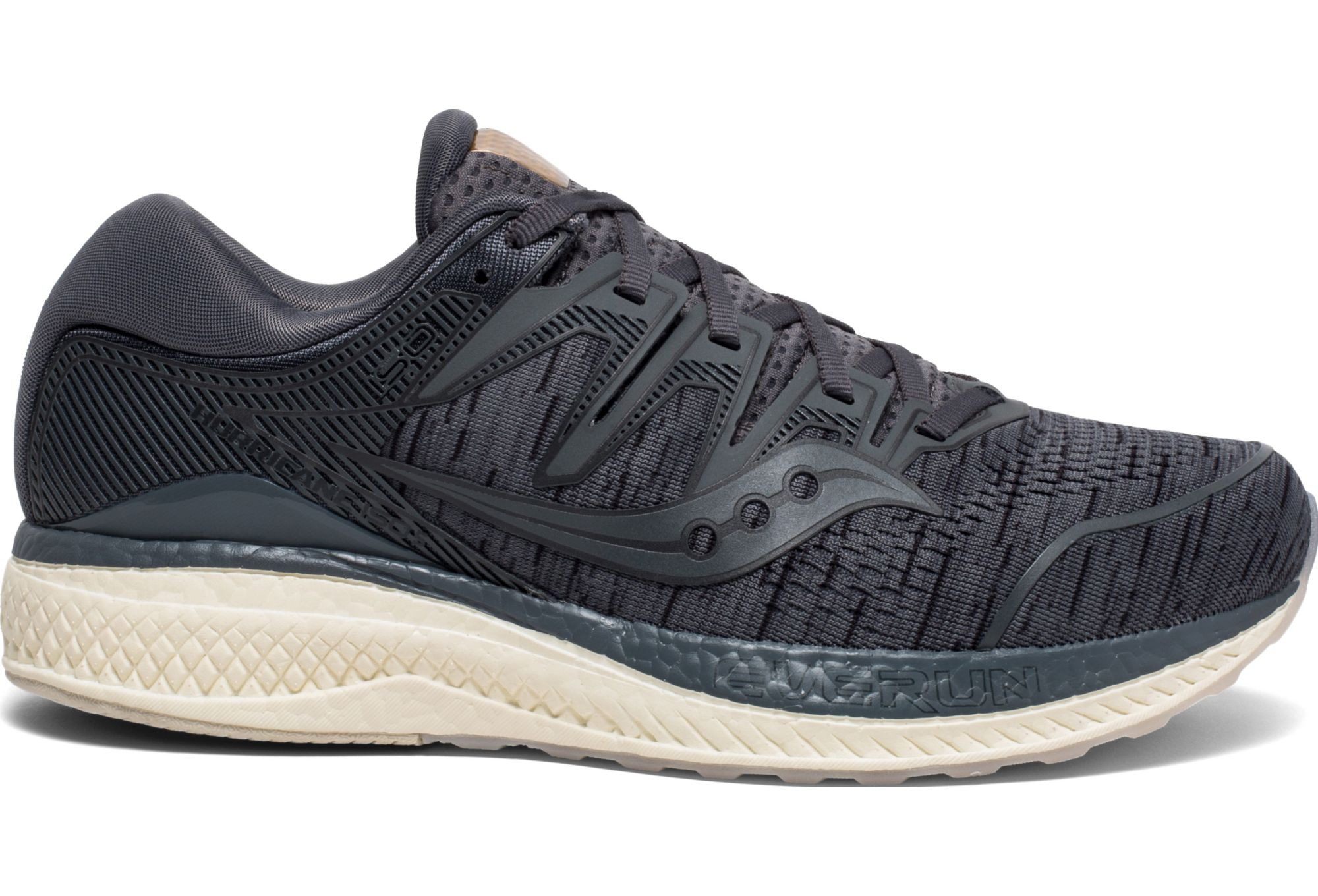 81dfaa8d Saucony Hurricane ISO 5 Running Shoes Grey Shade | Alltricks.com