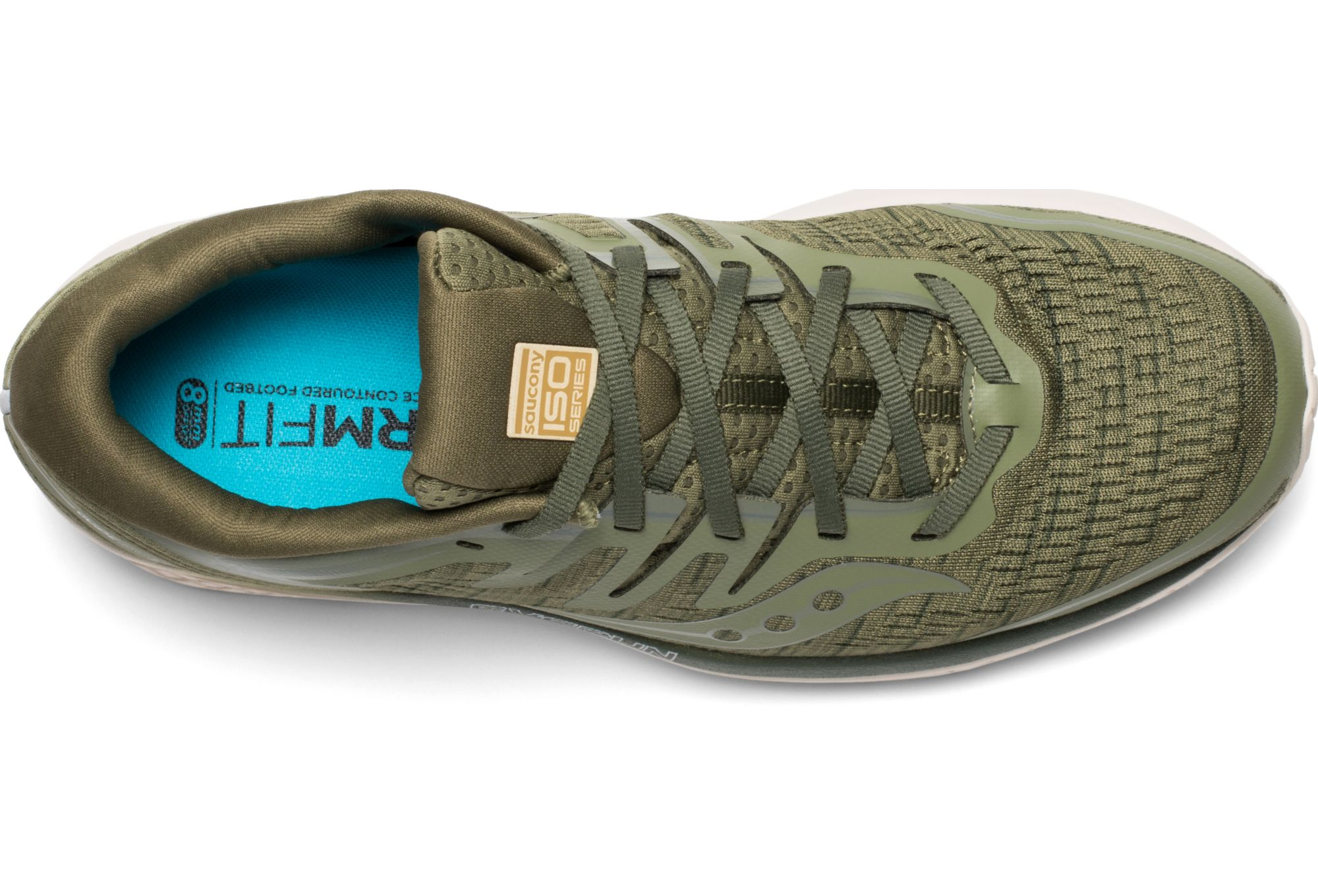 Saucony Guide ISO 2 Zapatillas de running Olive Shade